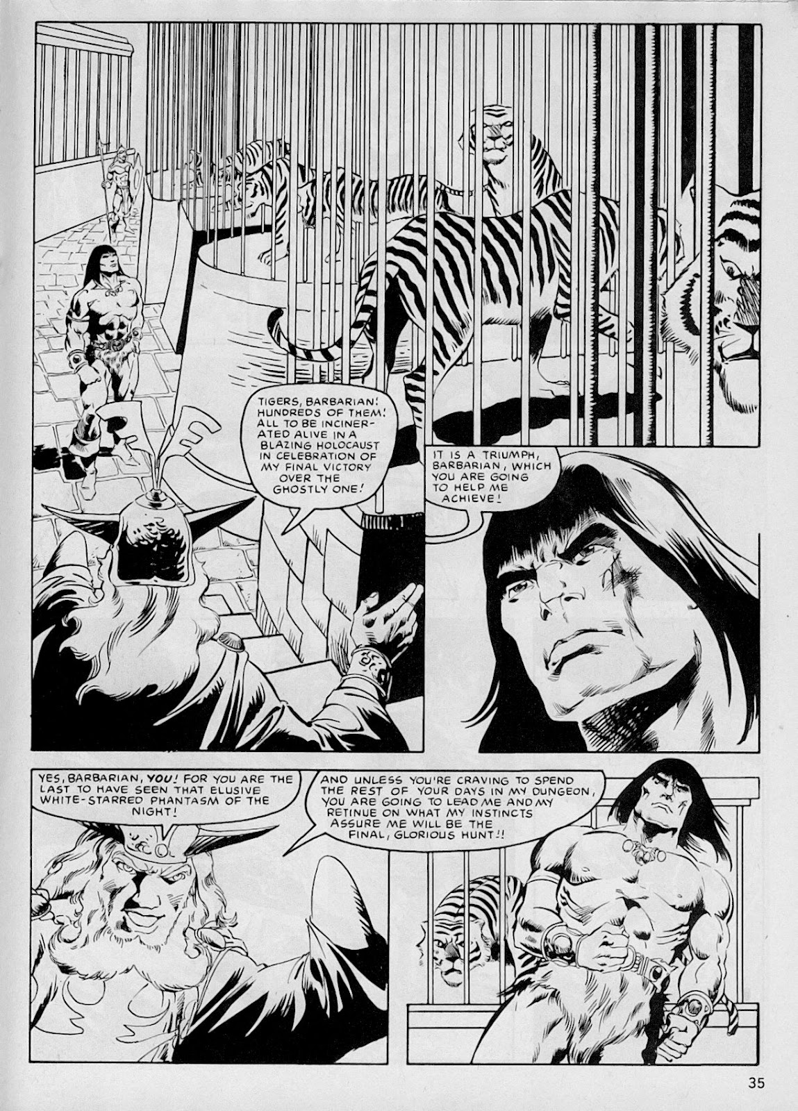 The Savage Sword Of Conan Issue #103 #104 - English 34