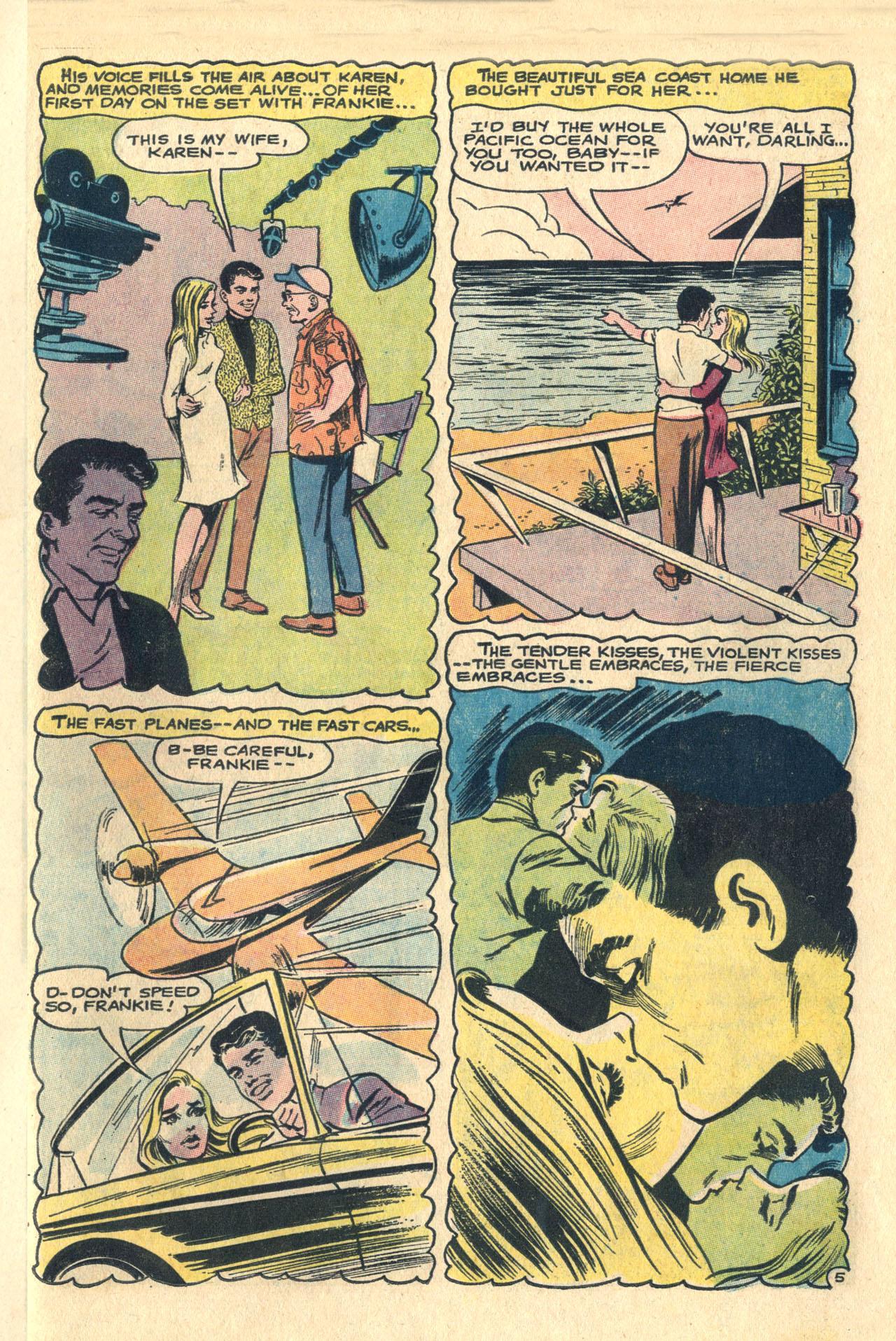 Read online Secret Hearts comic -  Issue #116 - 23