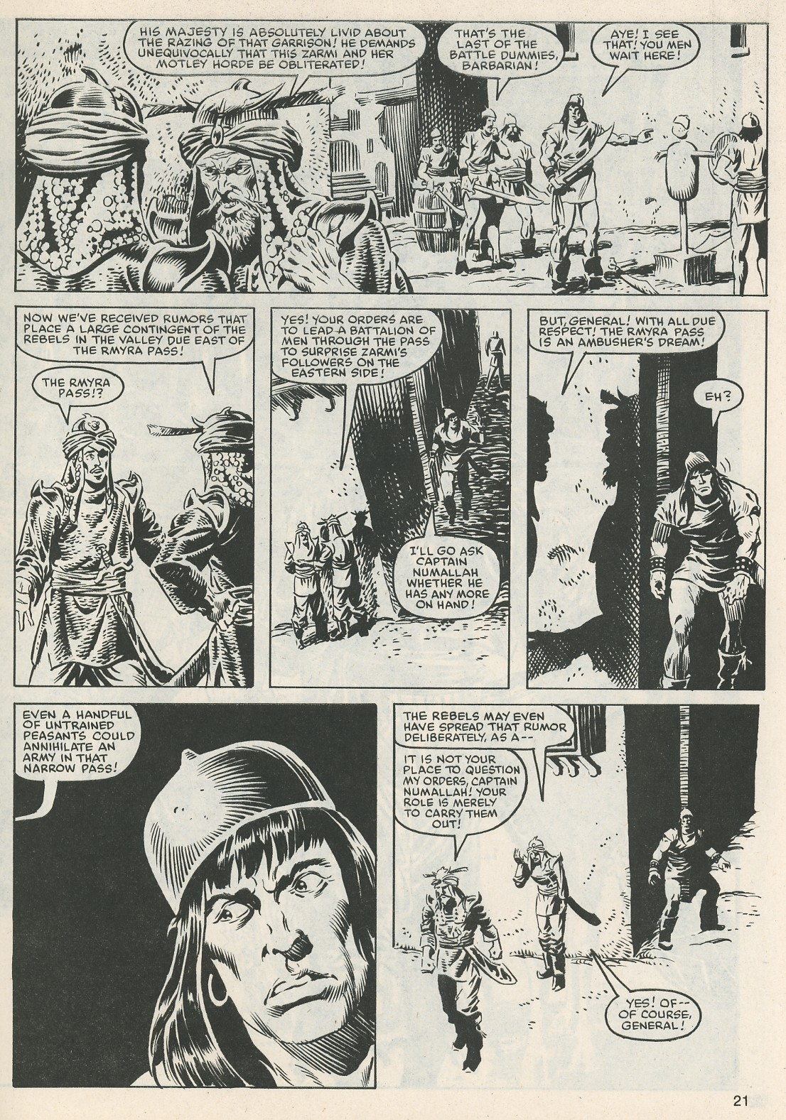 The Savage Sword Of Conan Issue #112 #113 - English 21