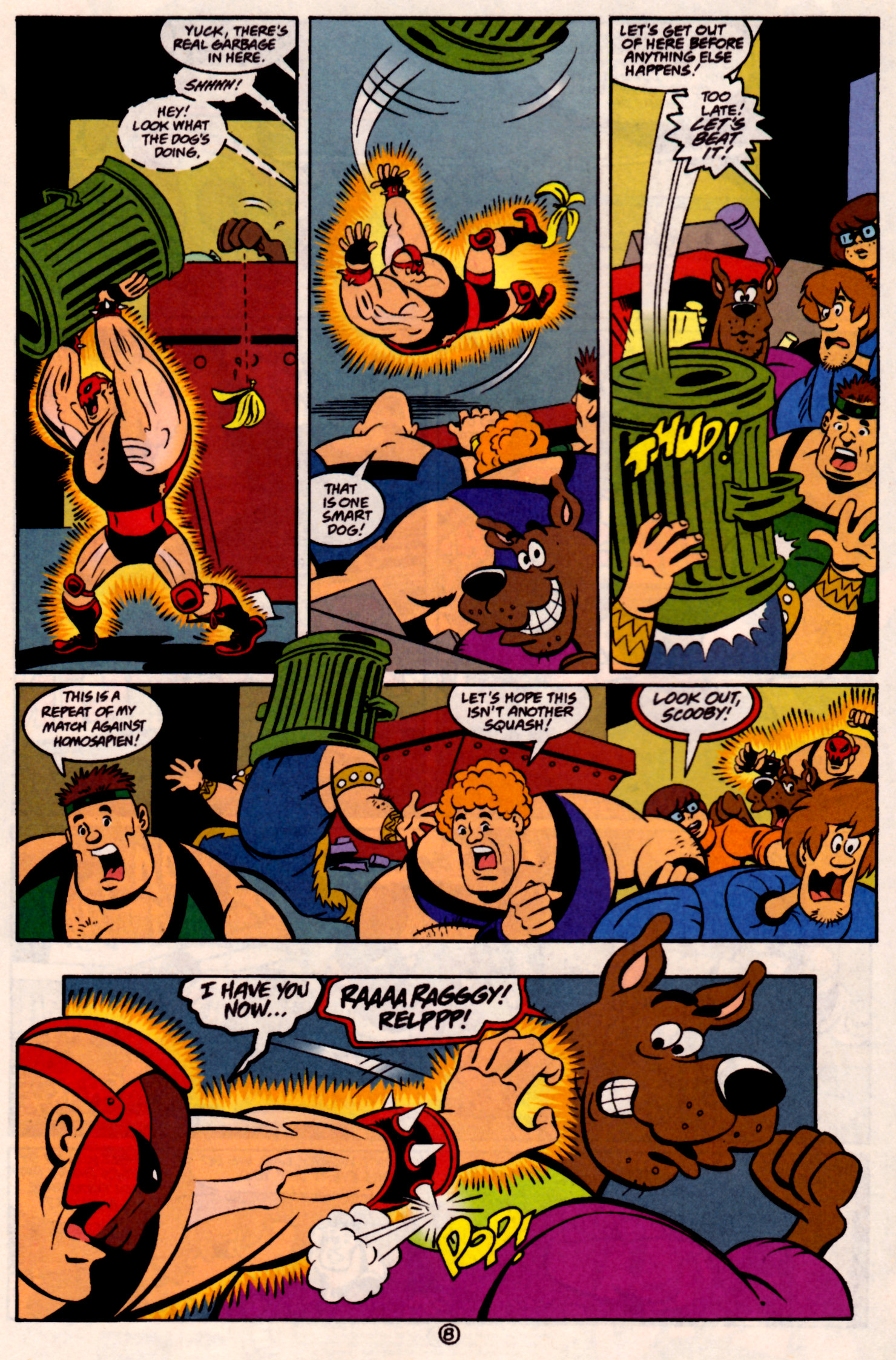 Read online Scooby-Doo (1997) comic -  Issue #31 - 9