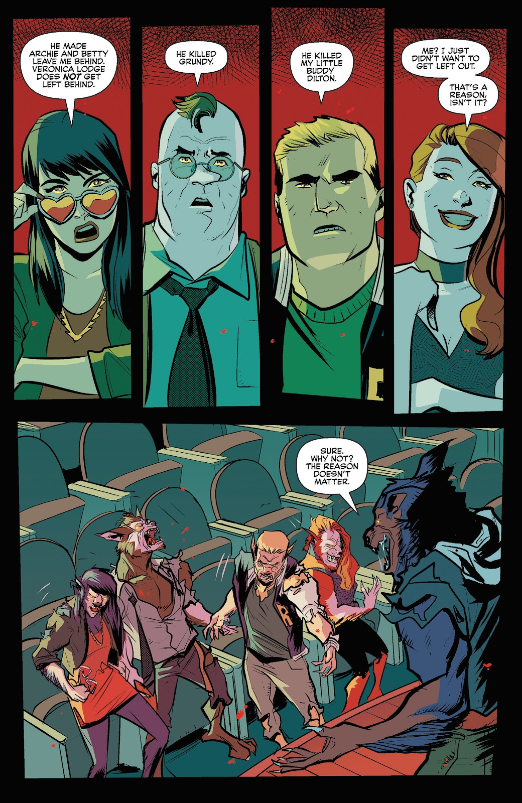 Jughead The Hunger Issue #3 #4 - English 21