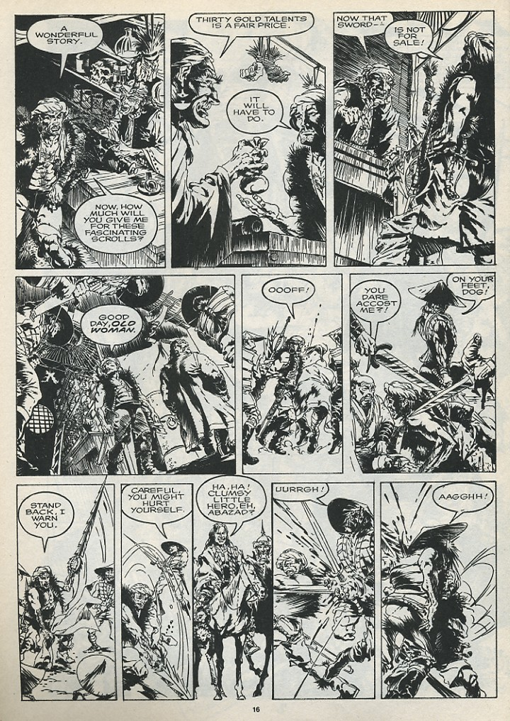 The Savage Sword Of Conan Issue #175 #176 - English 18