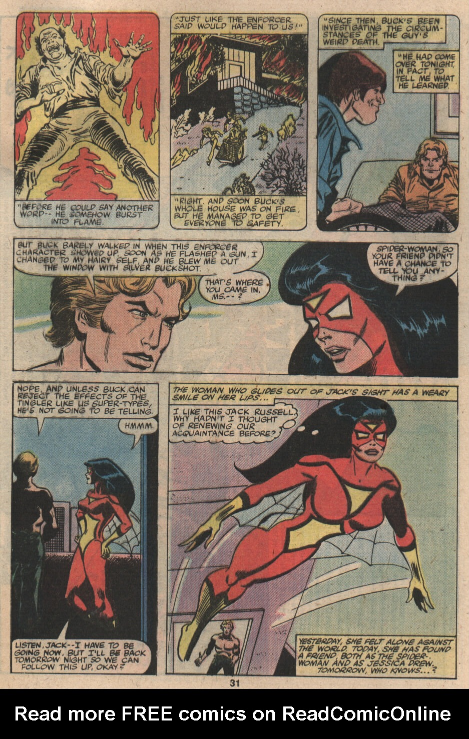 Spider-Woman (1978) Issue #19 #19 - English 19