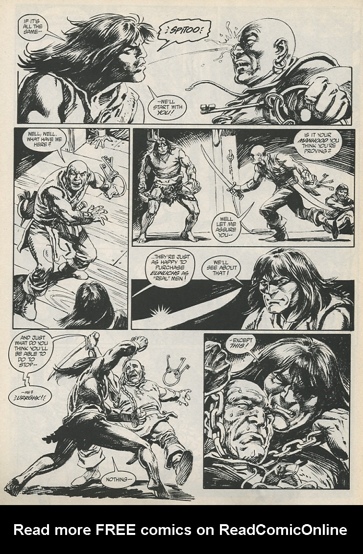 The Savage Sword Of Conan Issue #189 #190 - English 6