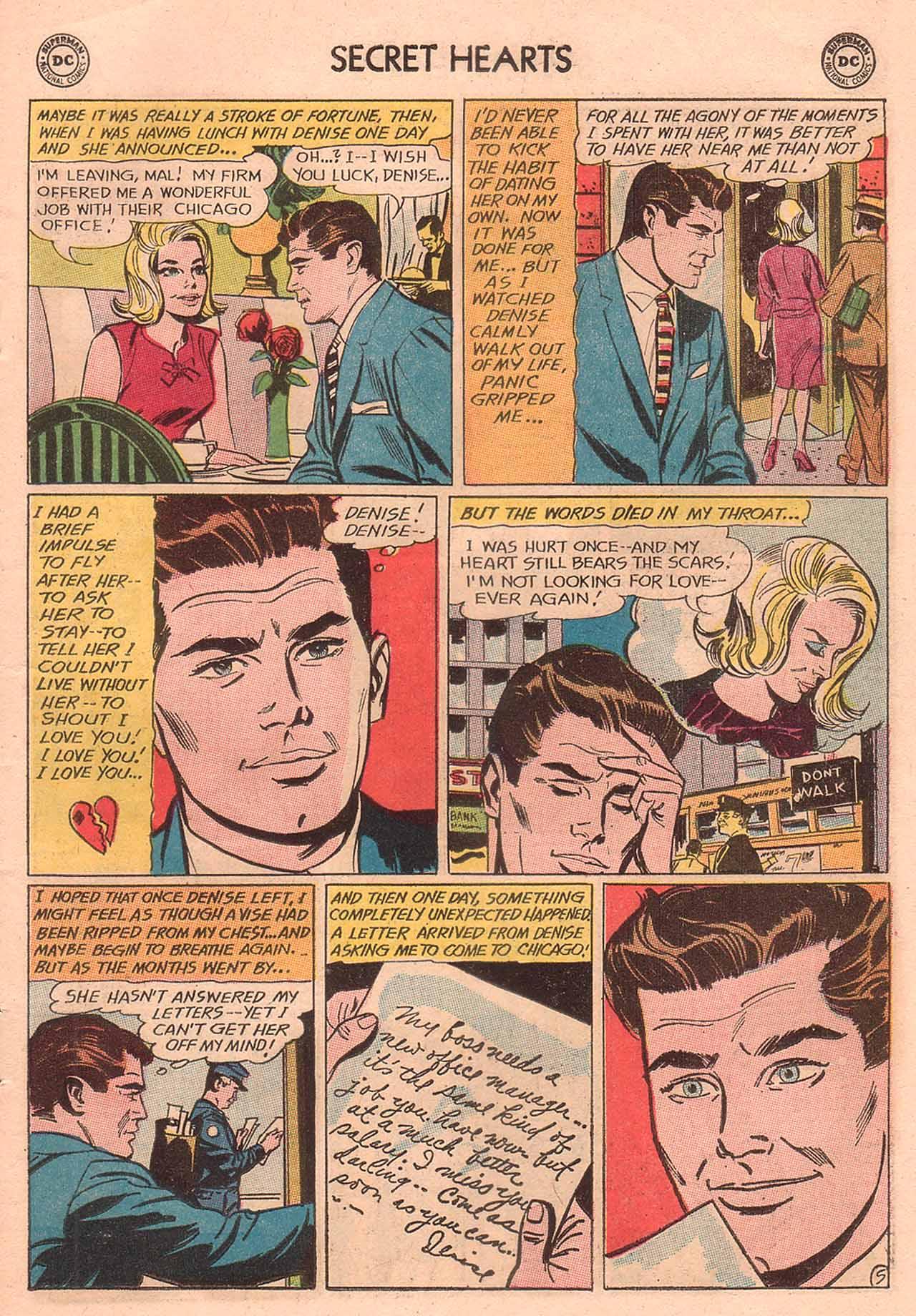 Read online Secret Hearts comic -  Issue #94 - 7