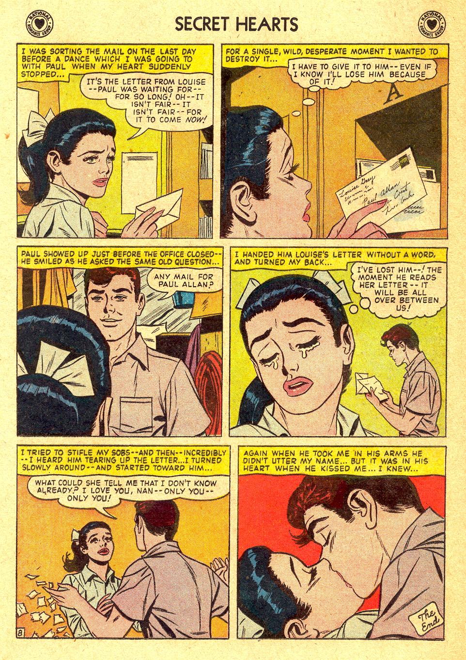 Read online Secret Hearts comic -  Issue #45 - 24