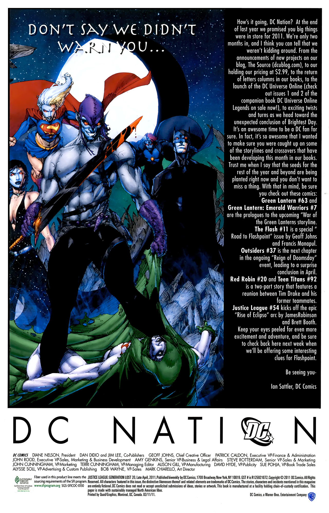 Read online Justice League: Generation Lost comic -  Issue #20 - 23