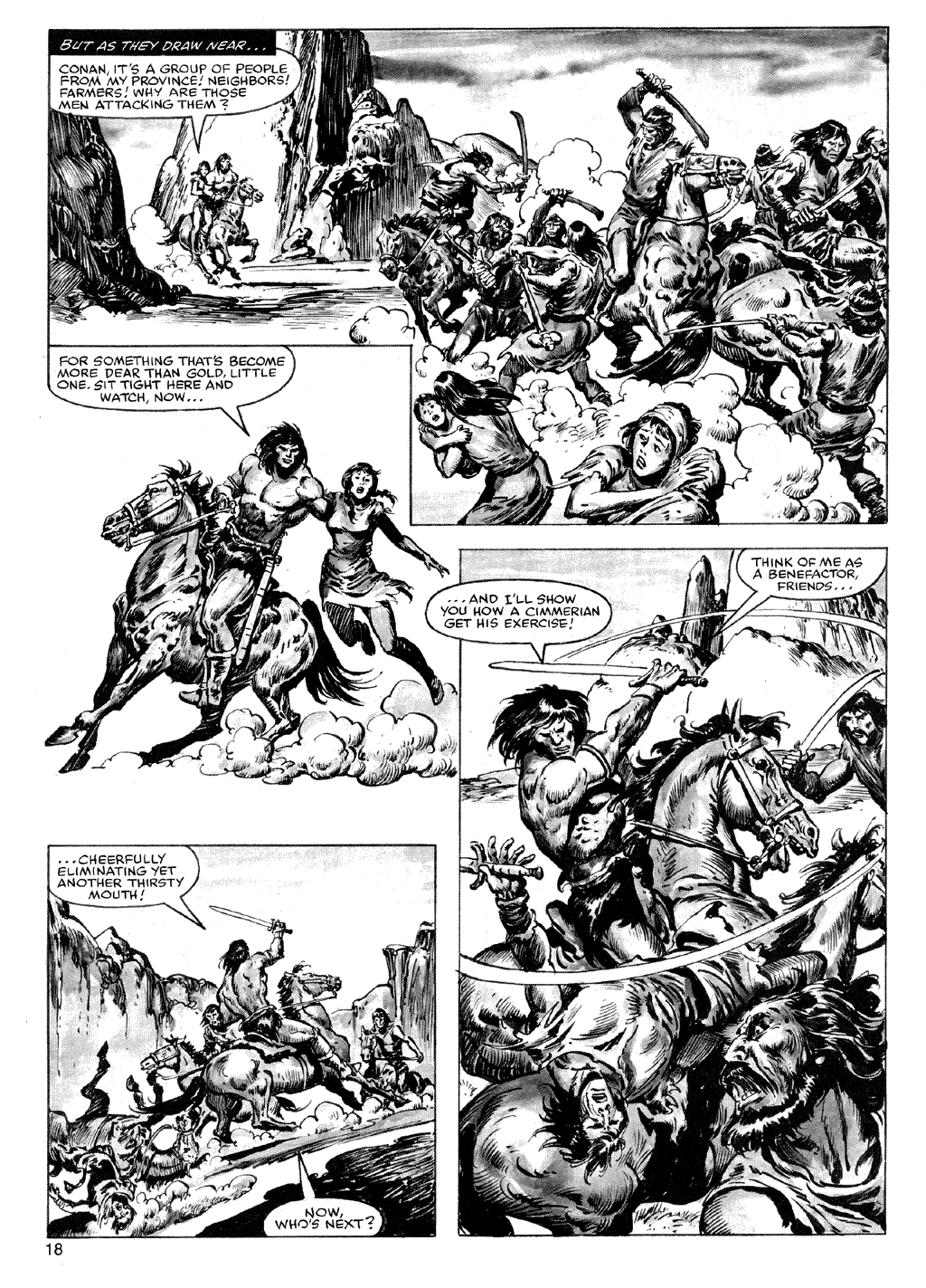 The Savage Sword Of Conan Issue #72 #73 - English 18