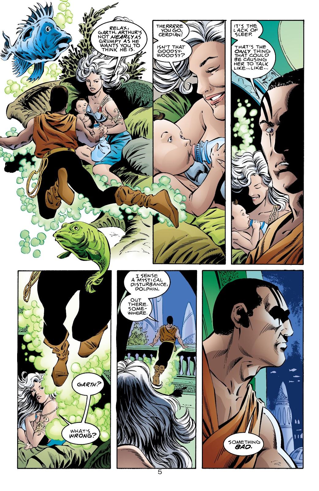 Aquaman (1994) Issue #71 #77 - English 6