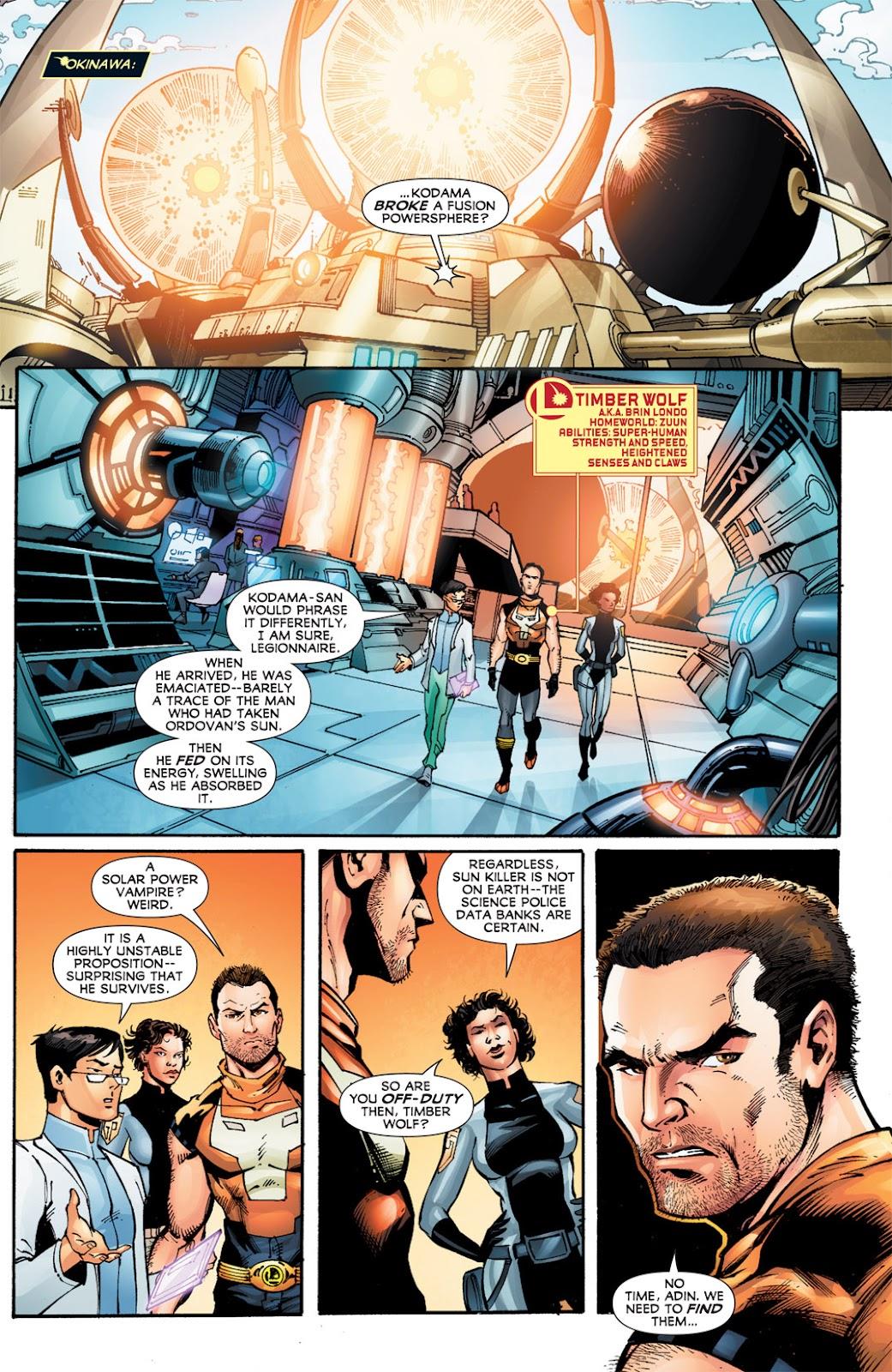 Legion of Super-Heroes (2010) Issue #12 #13 - English 11