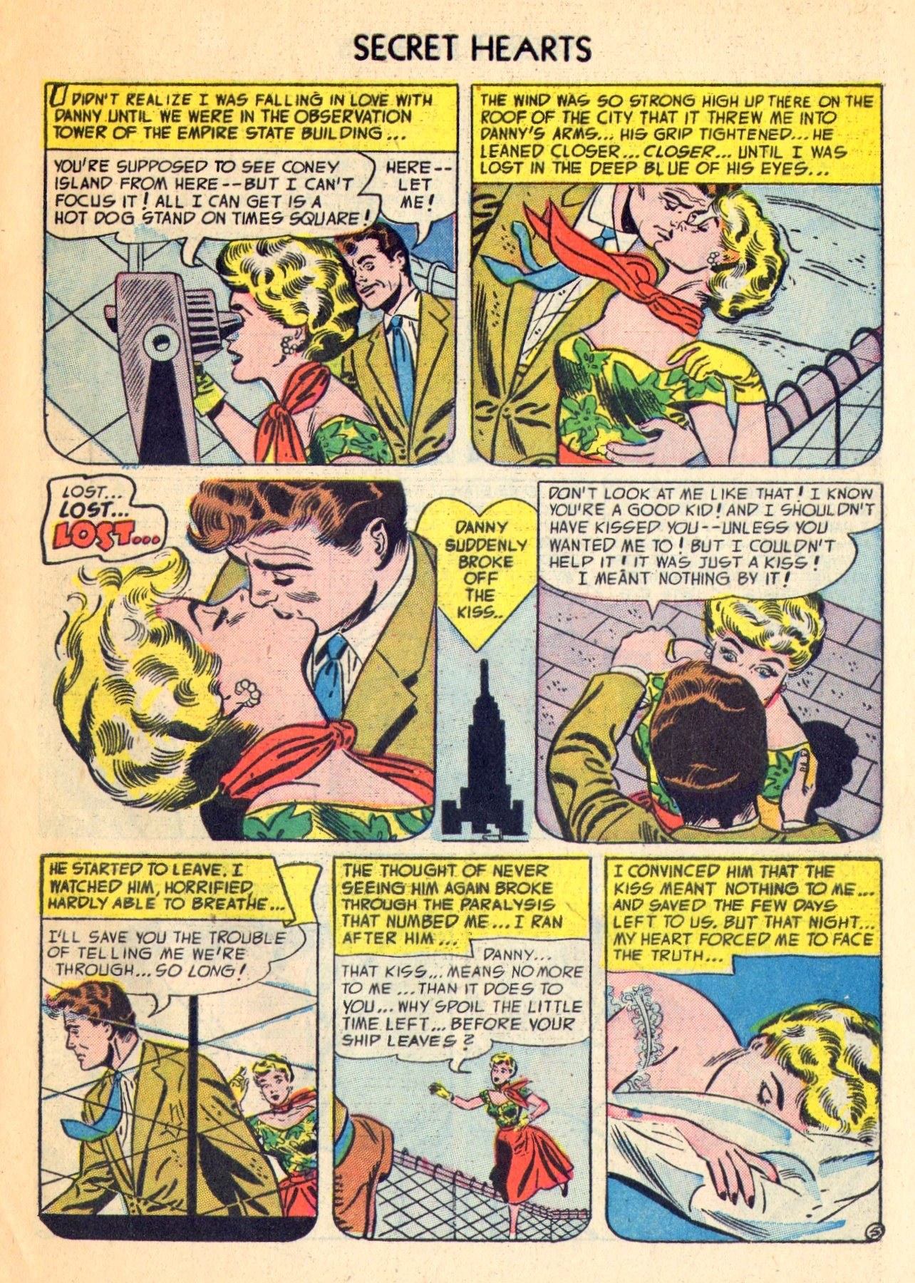 Read online Secret Hearts comic -  Issue #18 - 31
