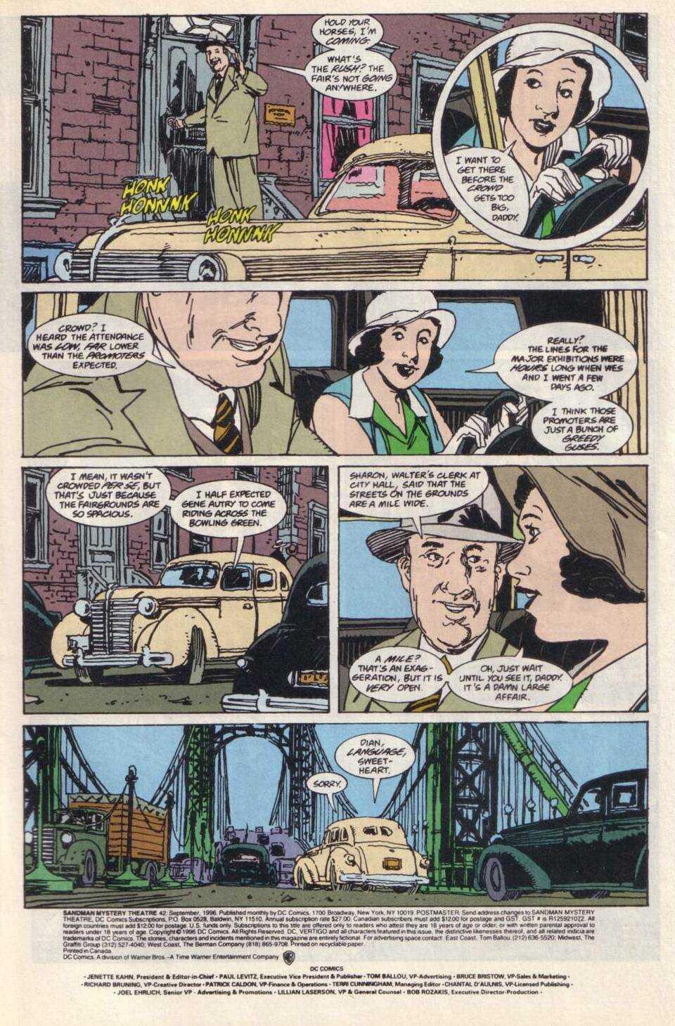 Sandman Mystery Theatre 42 Page 2