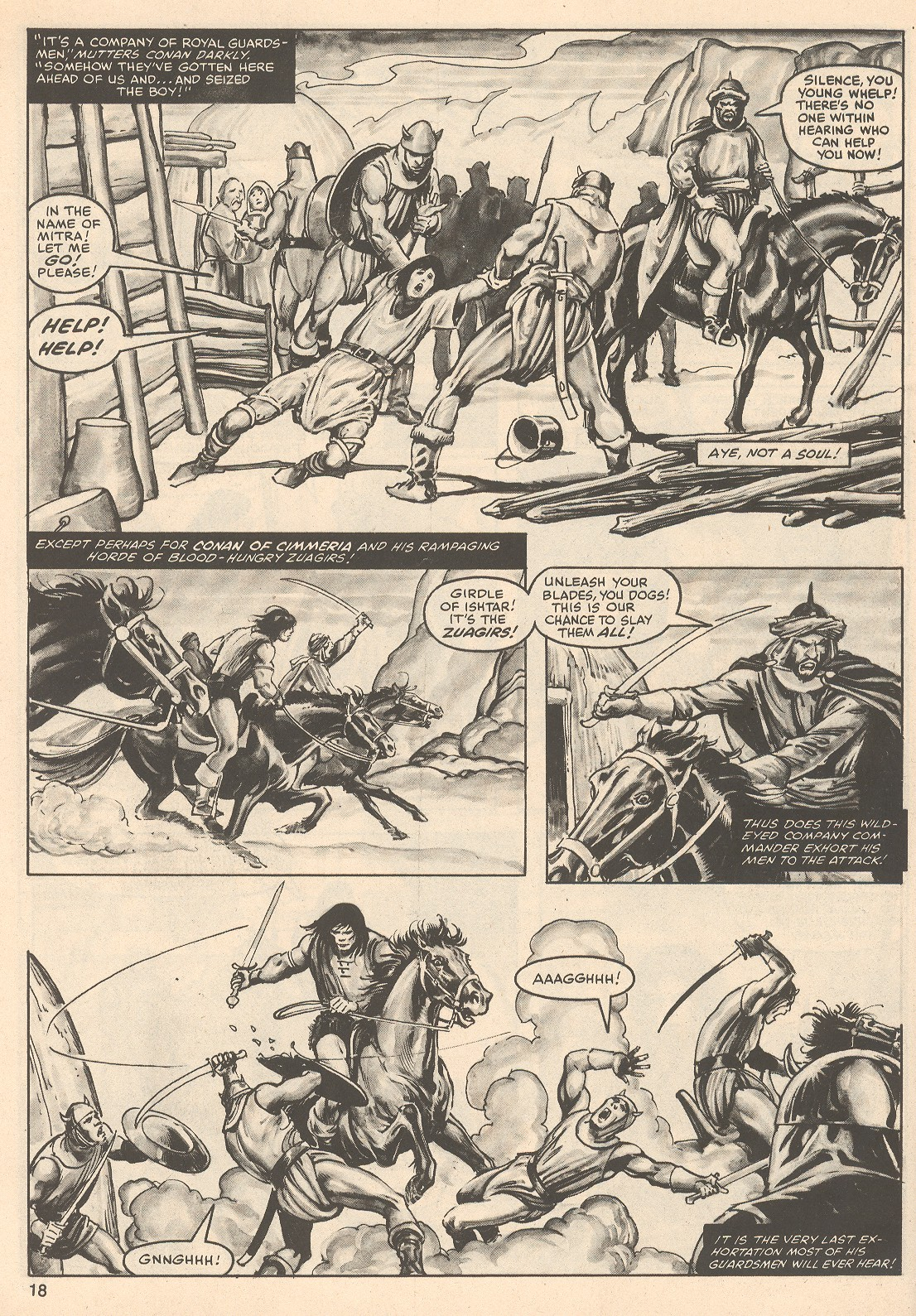 The Savage Sword Of Conan Issue #76 #77 - English 18