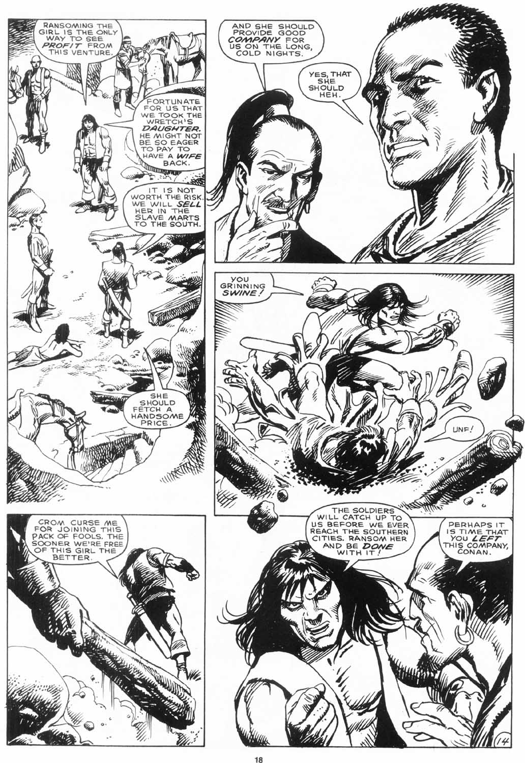 The Savage Sword Of Conan Issue #156 #157 - English 19