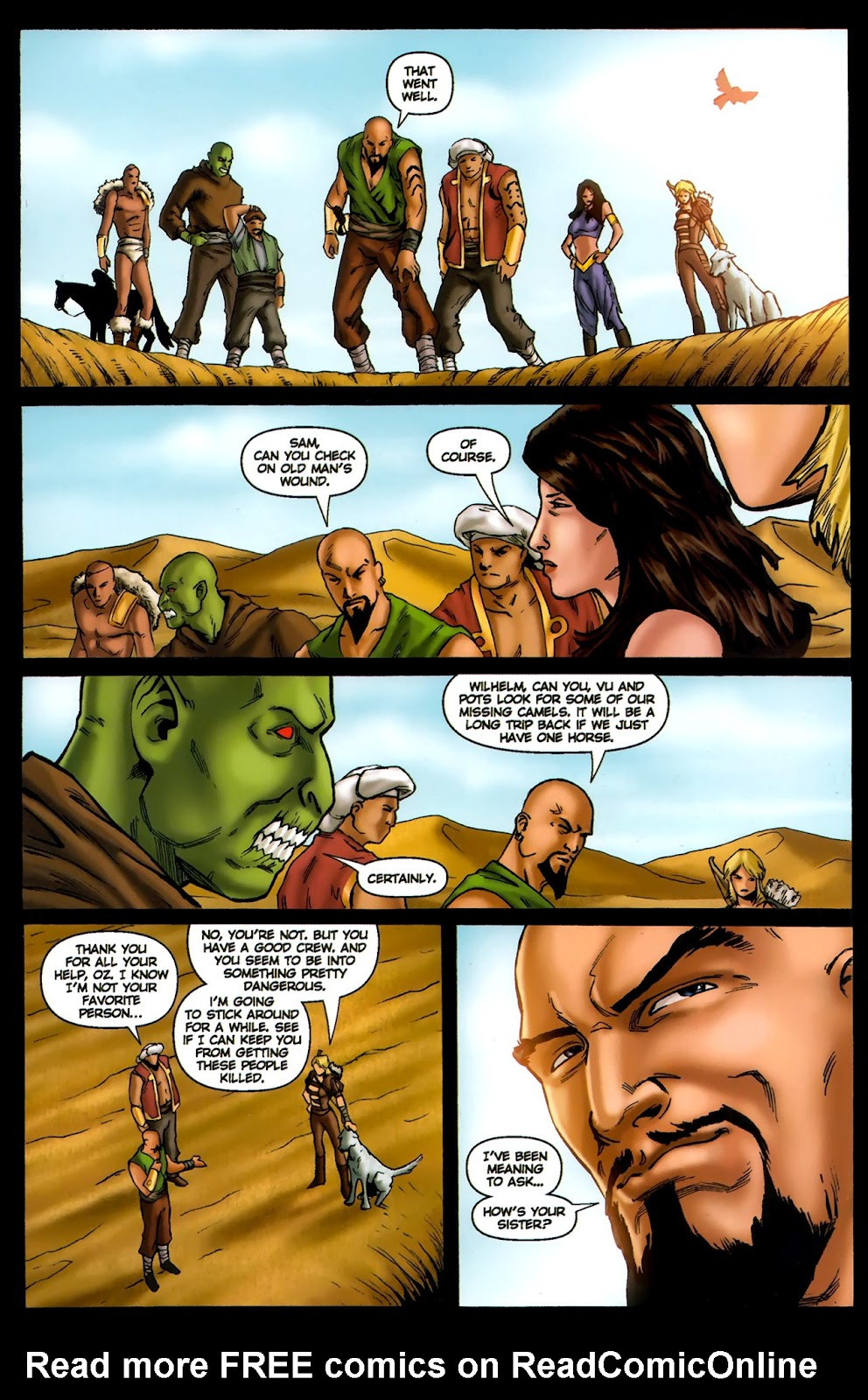 1001 Arabian Nights: The Adventures of Sinbad Issue #13 Page 23