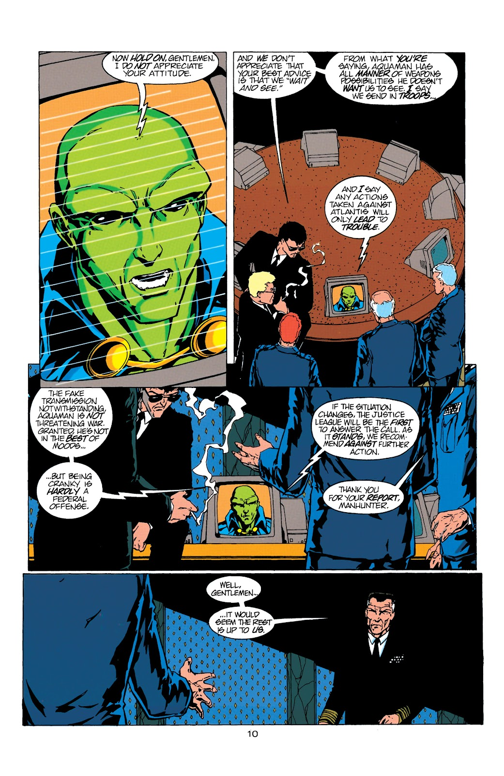 Aquaman (1994) Issue #17 #23 - English 11