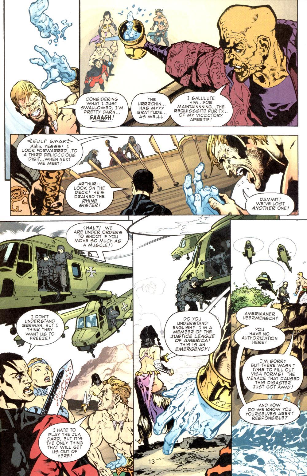 Aquaman (2003) Issue #8 #8 - English 14