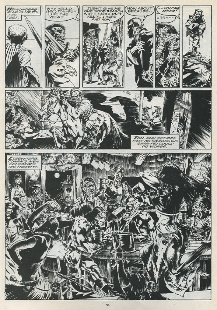 The Savage Sword Of Conan Issue #175 #176 - English 38