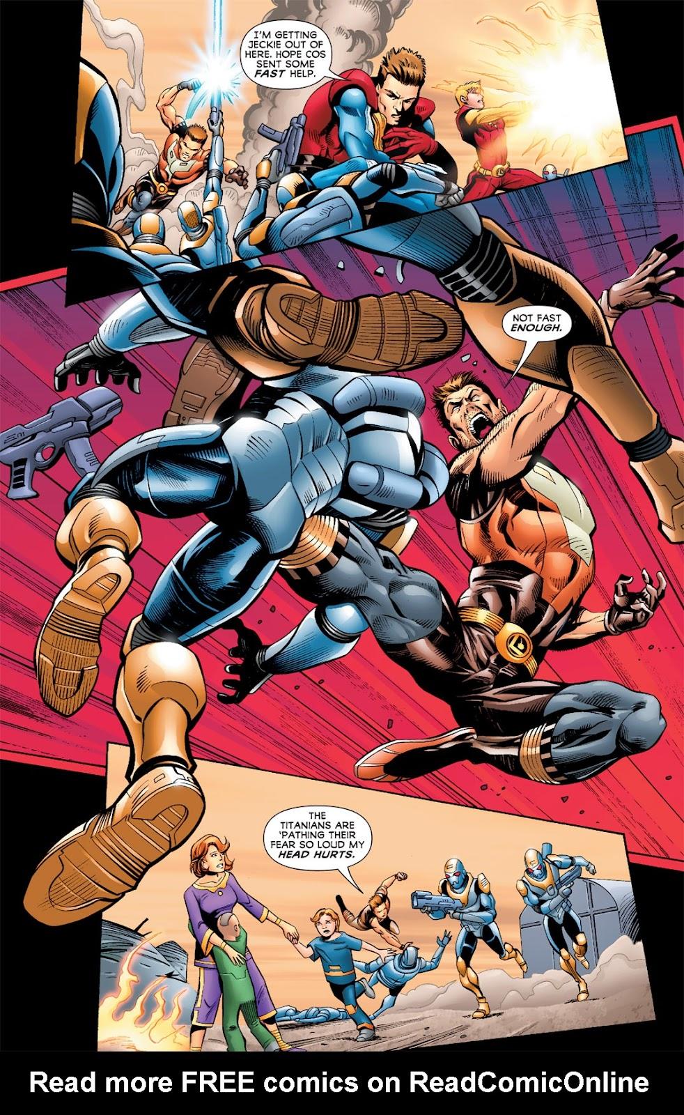 Legion of Super-Heroes (2010) Issue #5 #6 - English 12