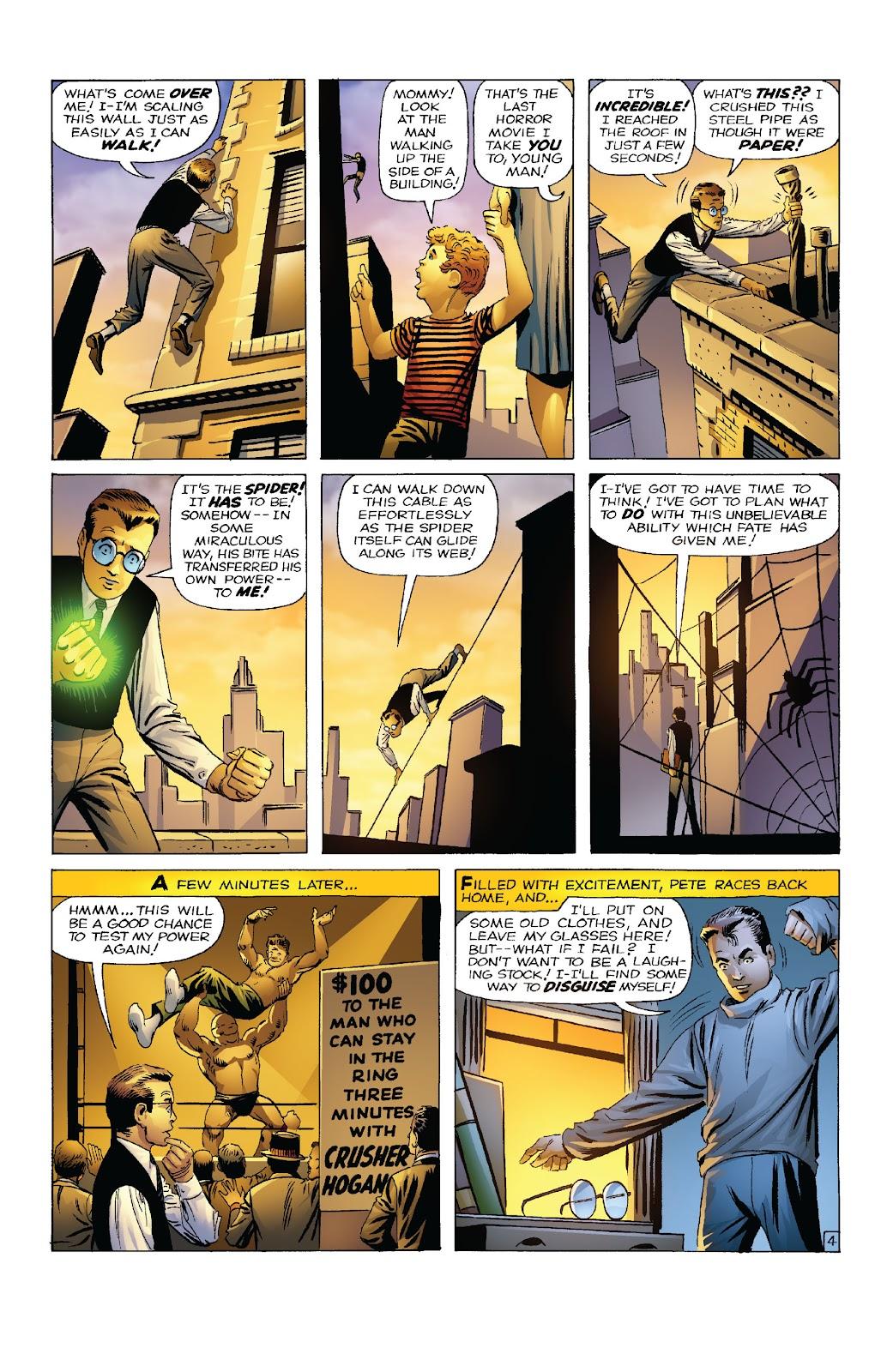 Amazing Fantasy #15: Spider-Man! Full #1 - English 6