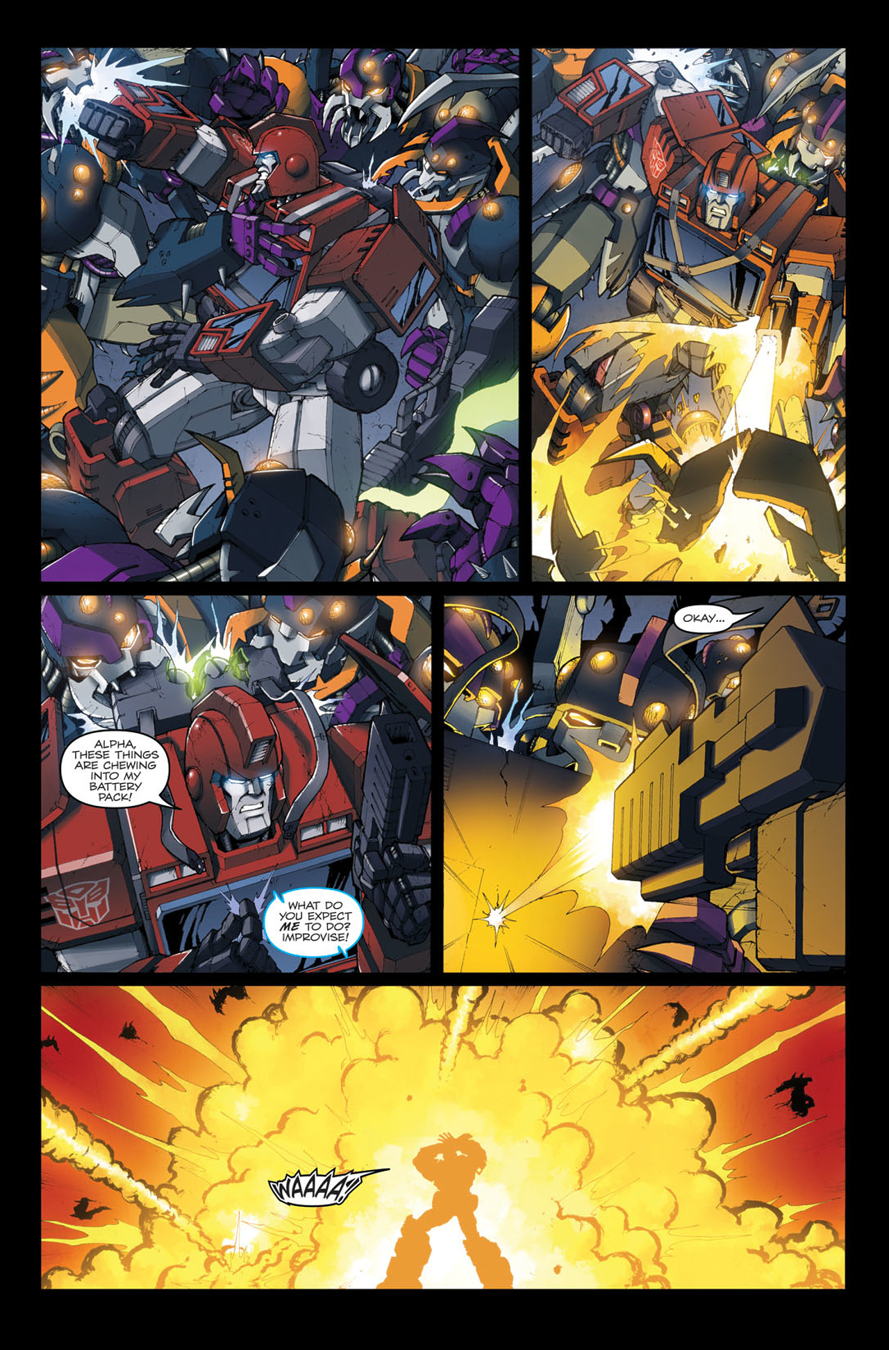 Read online The Transformers: Ironhide comic -  Issue #4 - 7