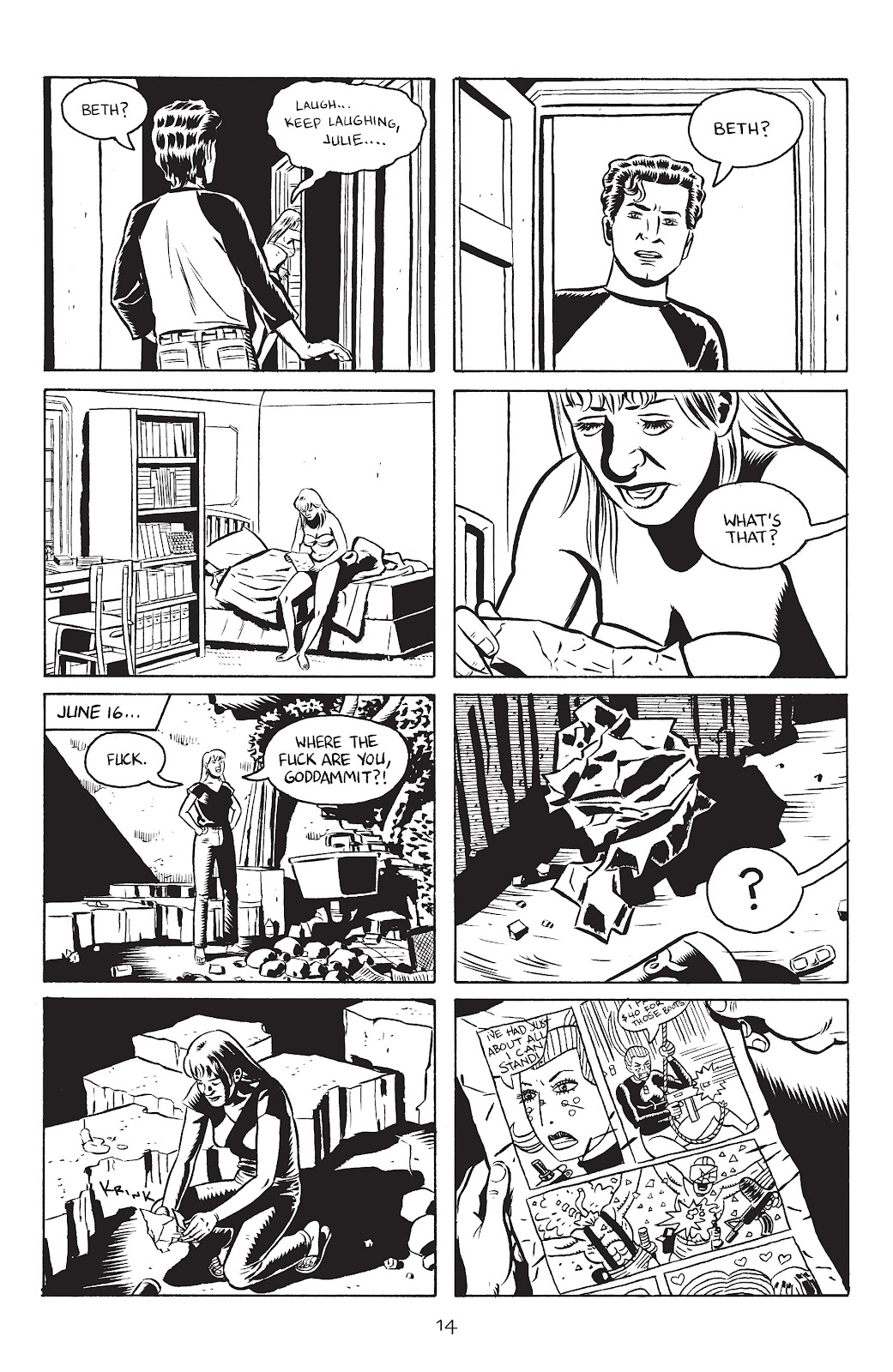 Stray Bullets Issue #27 #27 - English 16