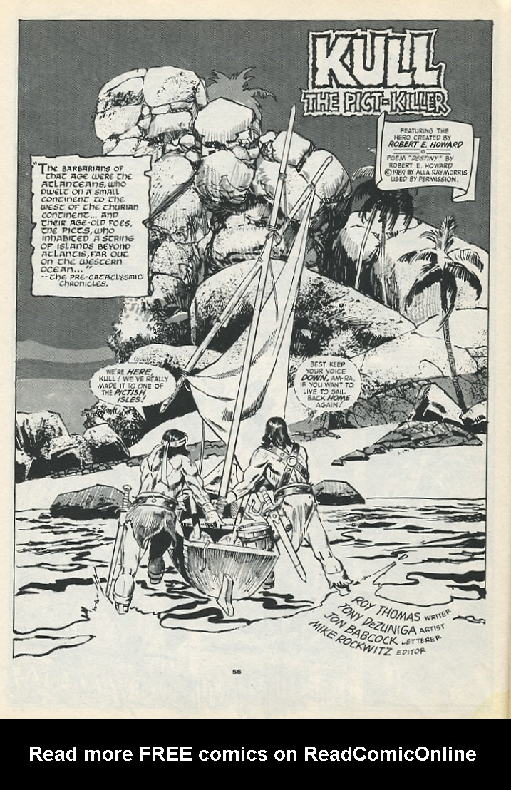 The Savage Sword Of Conan Issue #193 #194 - English 58