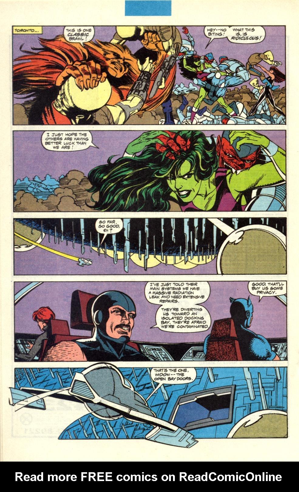 Alpha Flight (1983) 100 Page 20