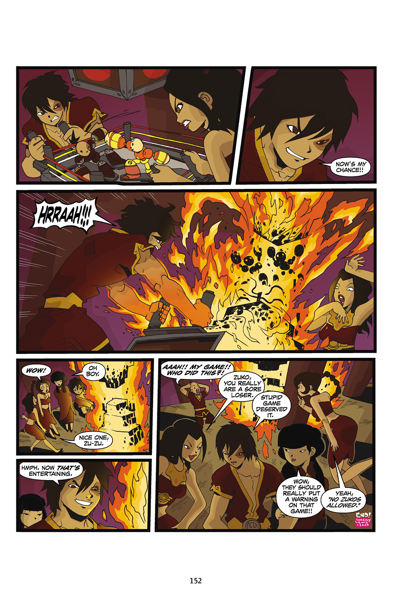 Nickelodeon Avatar: The Last Airbender - The Lost Adventures chap full pic 153