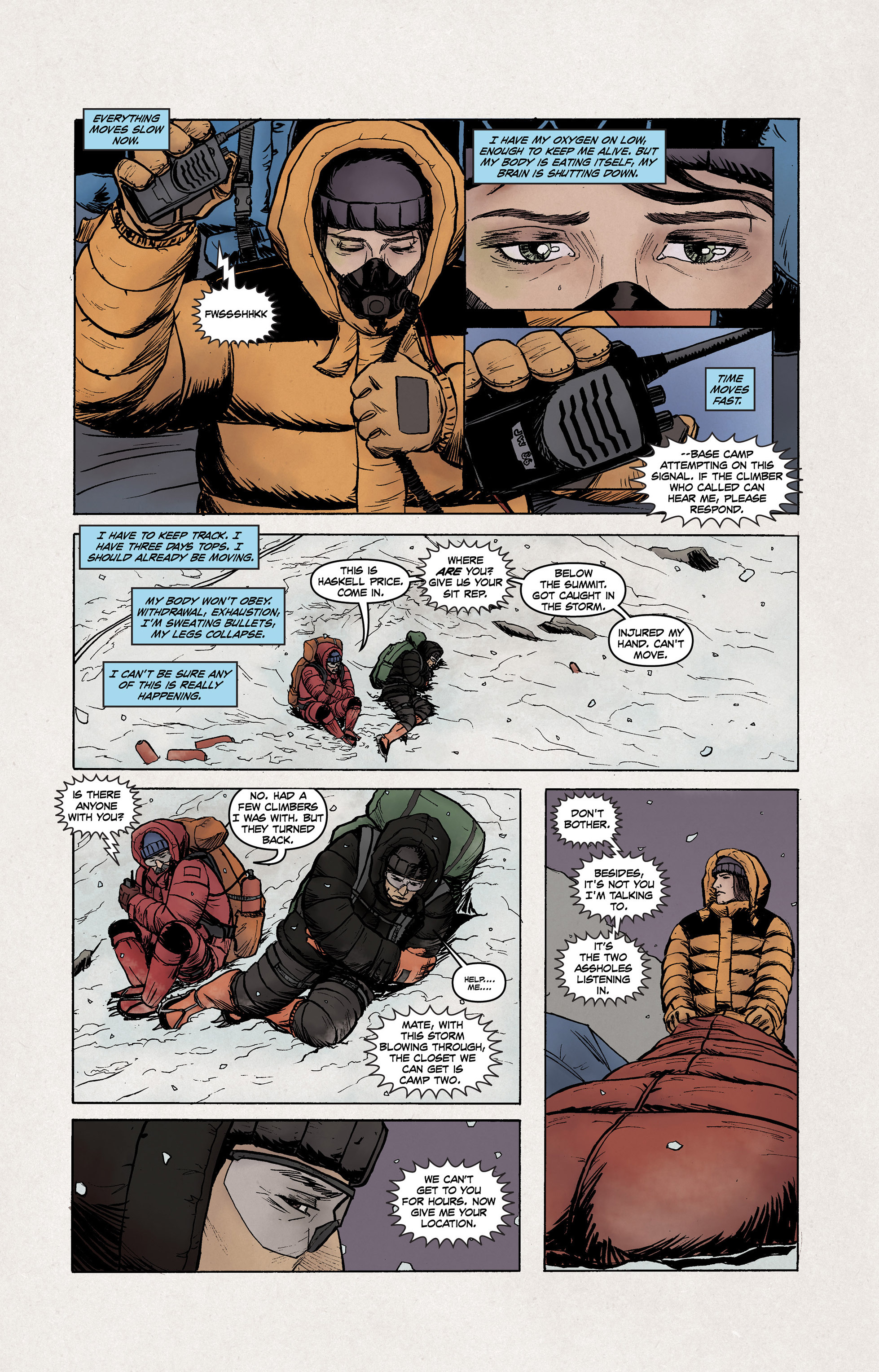 Read online High Crimes comic -  Issue #10 - 6