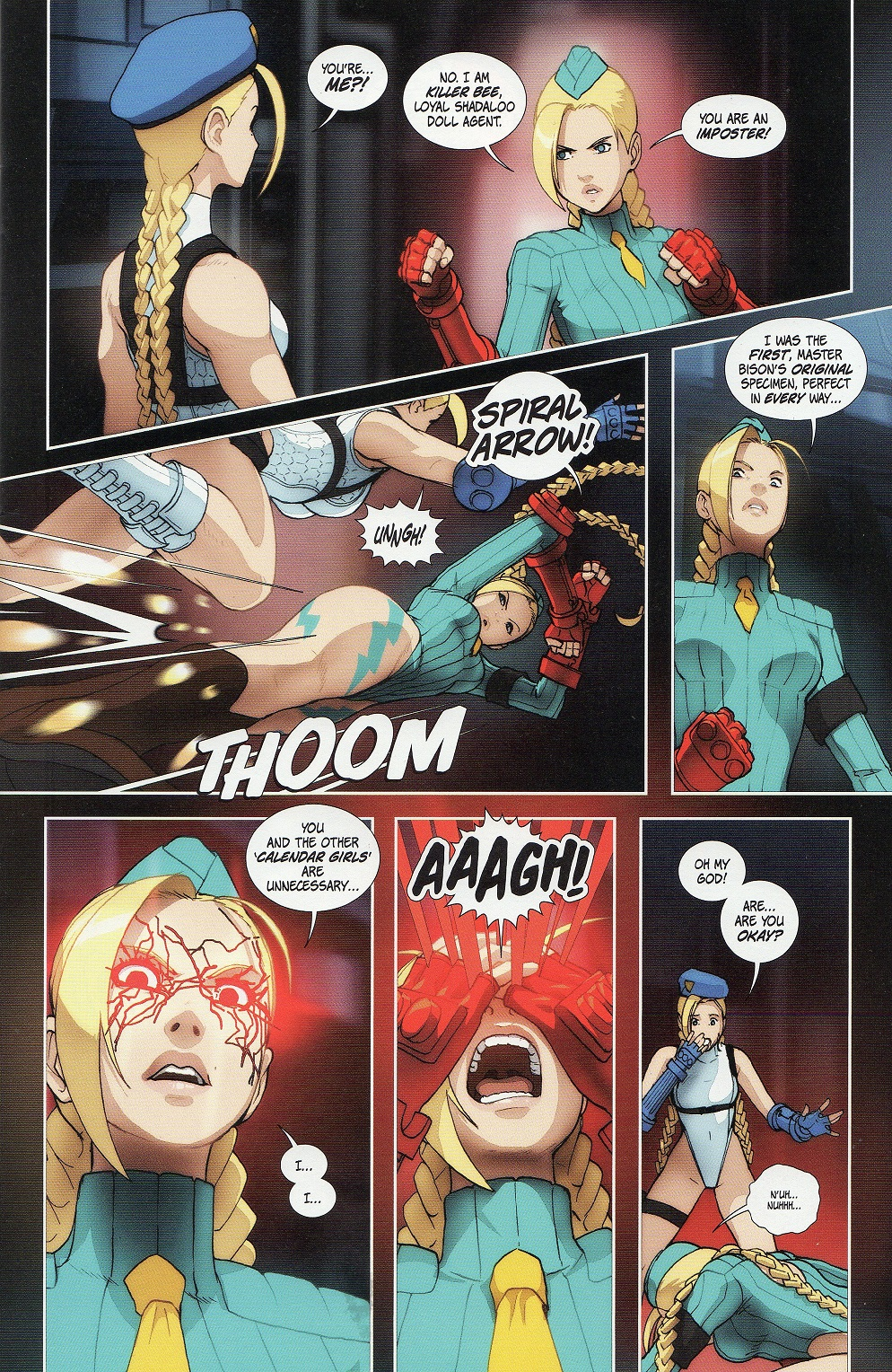 Street Fighter Legends: Cammy Issue #3 #3 - English 9