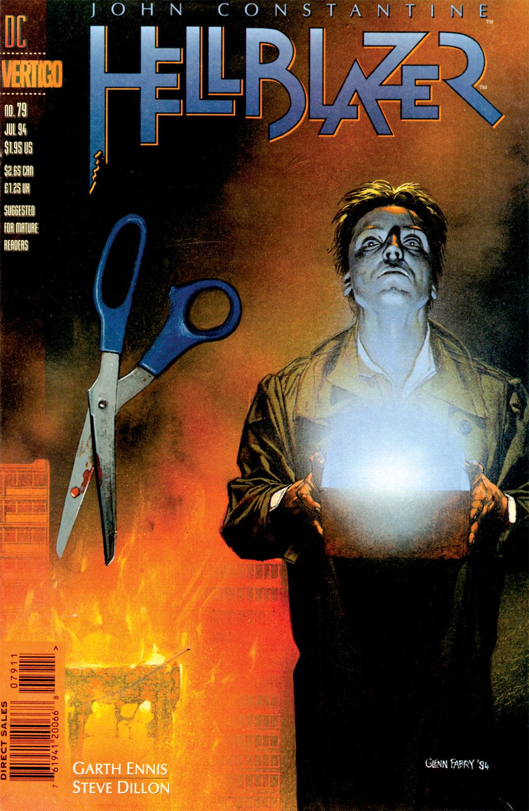 Hellblazer issue 79 - Page 1