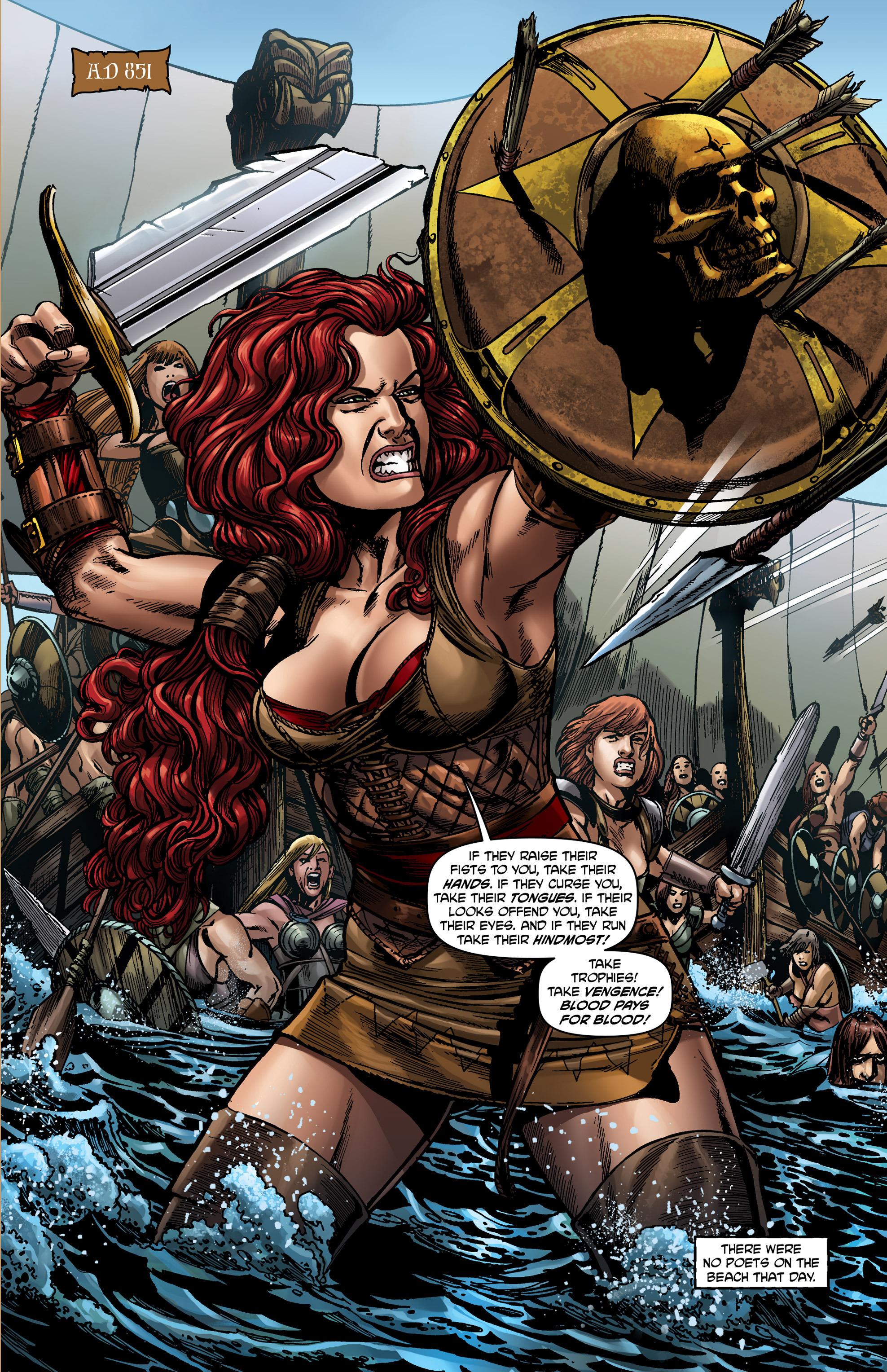 Read online Belladonna comic -  Issue #0 - 3