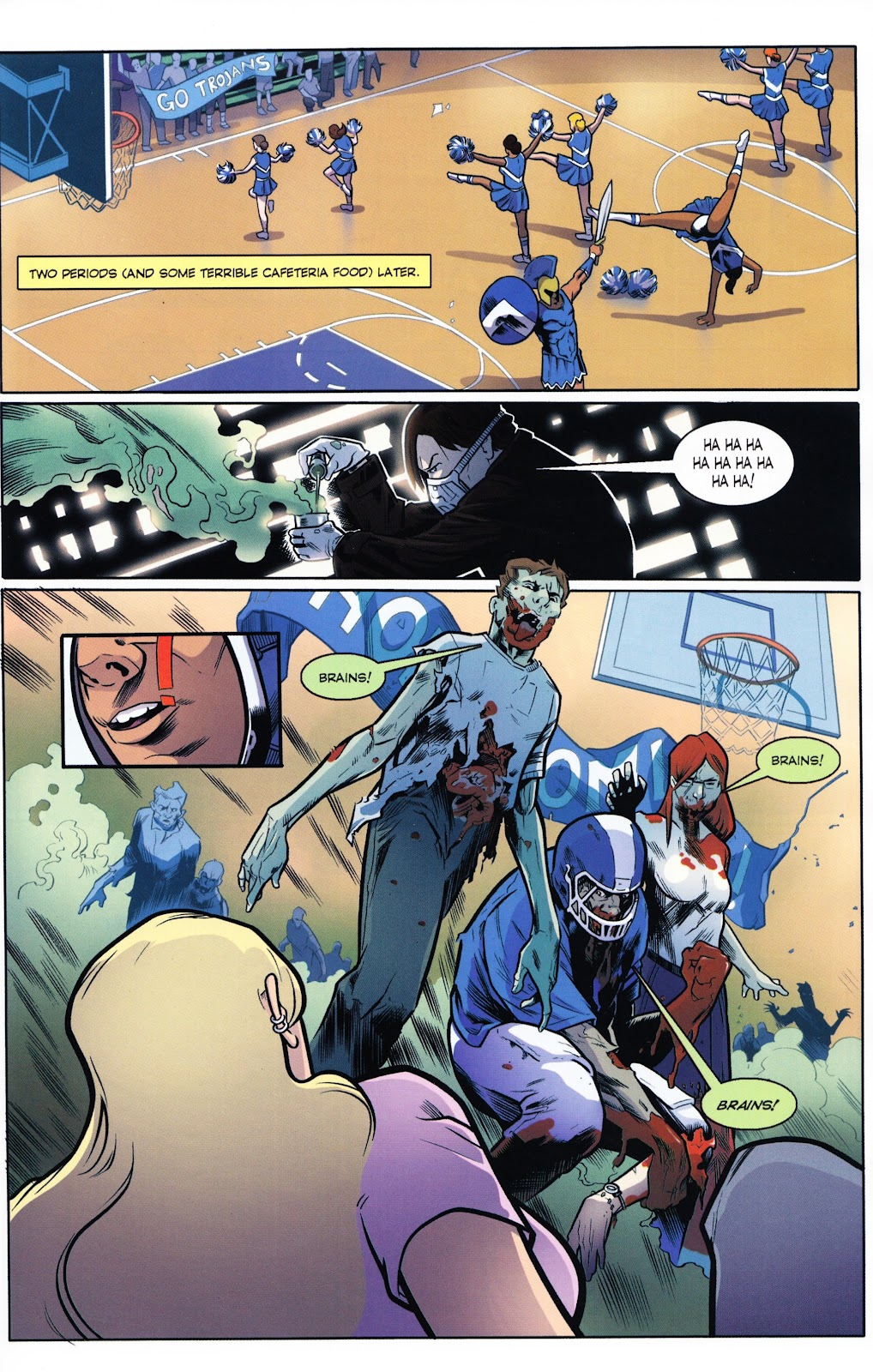 Zombies vs Cheerleaders Issue #2 Page 24