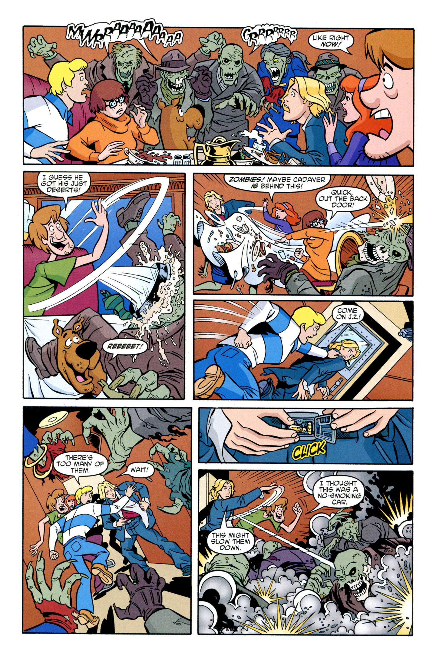 Read online Scooby-Doo: Where Are You? comic -  Issue #29 - 23