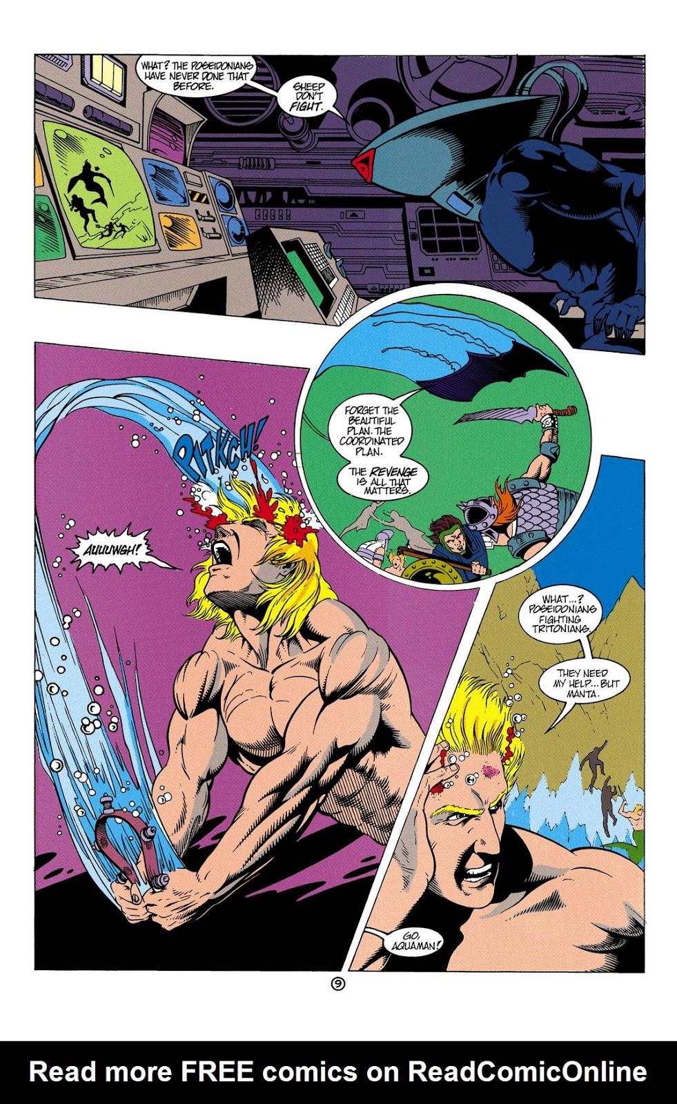 Aquaman (1991) Issue #6 #6 - English 10