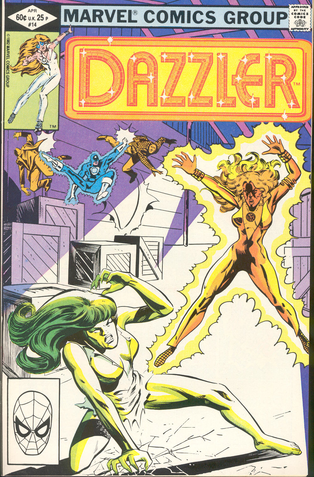 Dazzler (1981) 14 Page 1