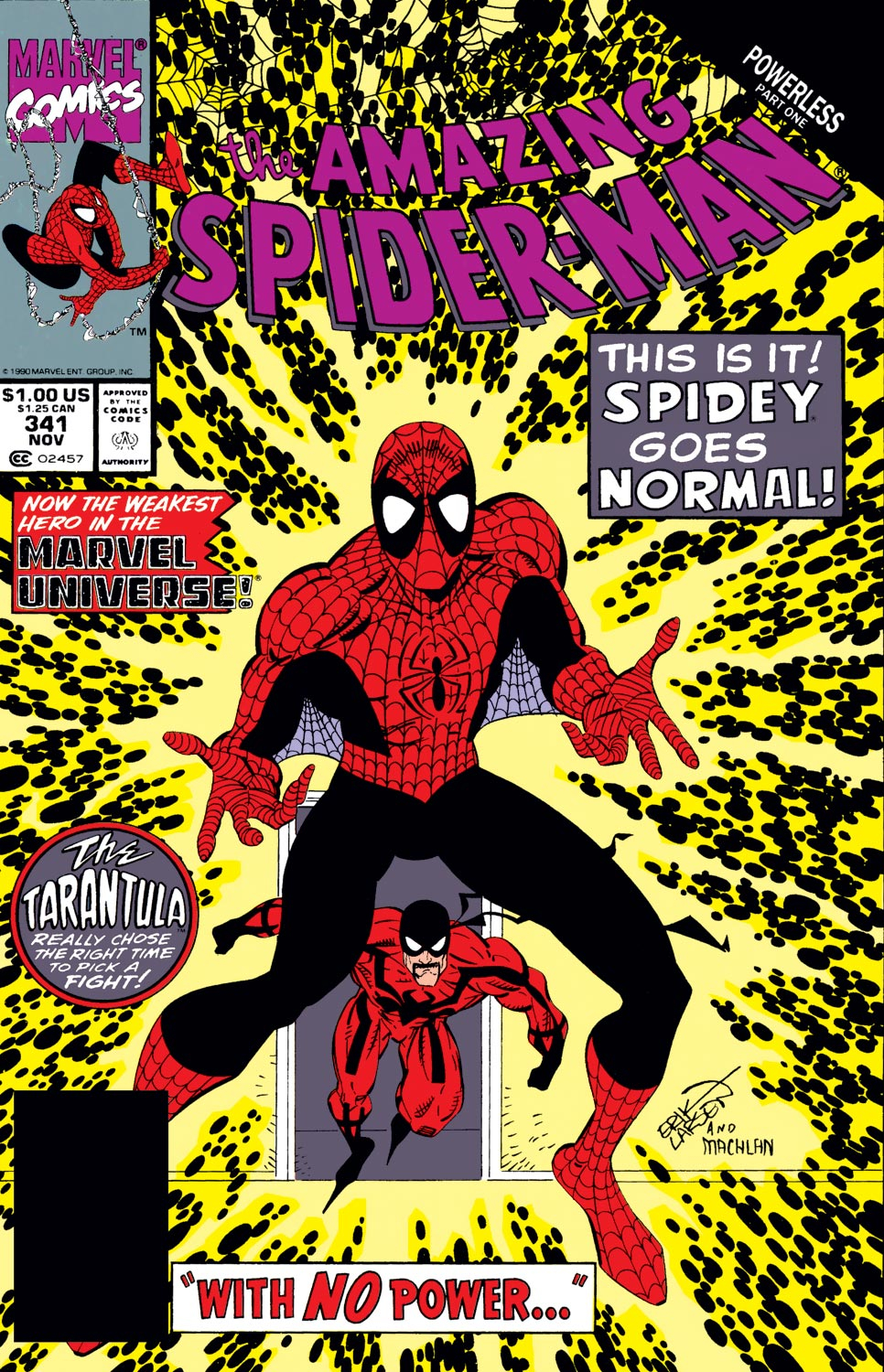 The Amazing Spider-Man (1963) 341 Page 1