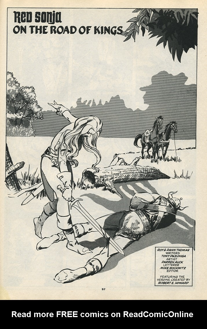 The Savage Sword Of Conan Issue #192 #193 - English 59