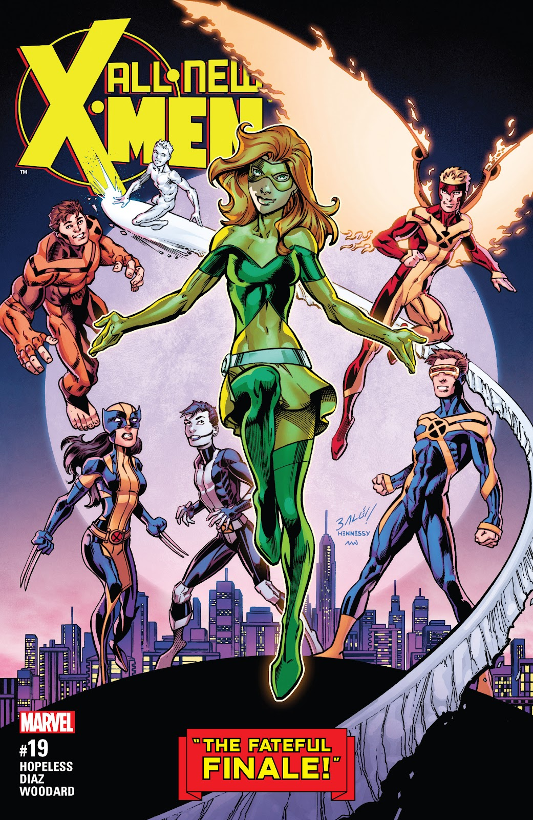 All-New X-Men (2016) Issue #19 #21 - English 1