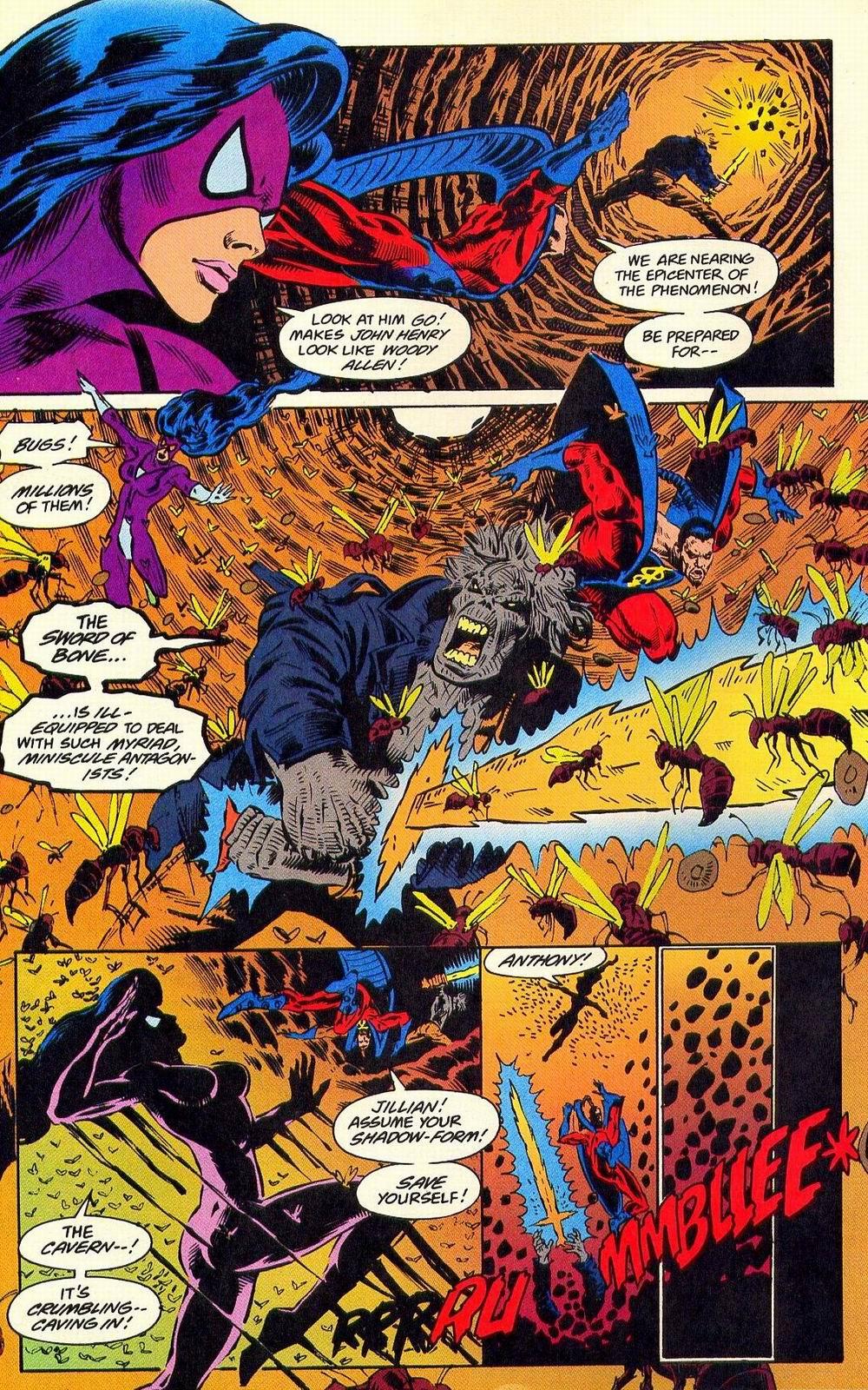 Read online Secret Defenders comic -  Issue #18 - 17