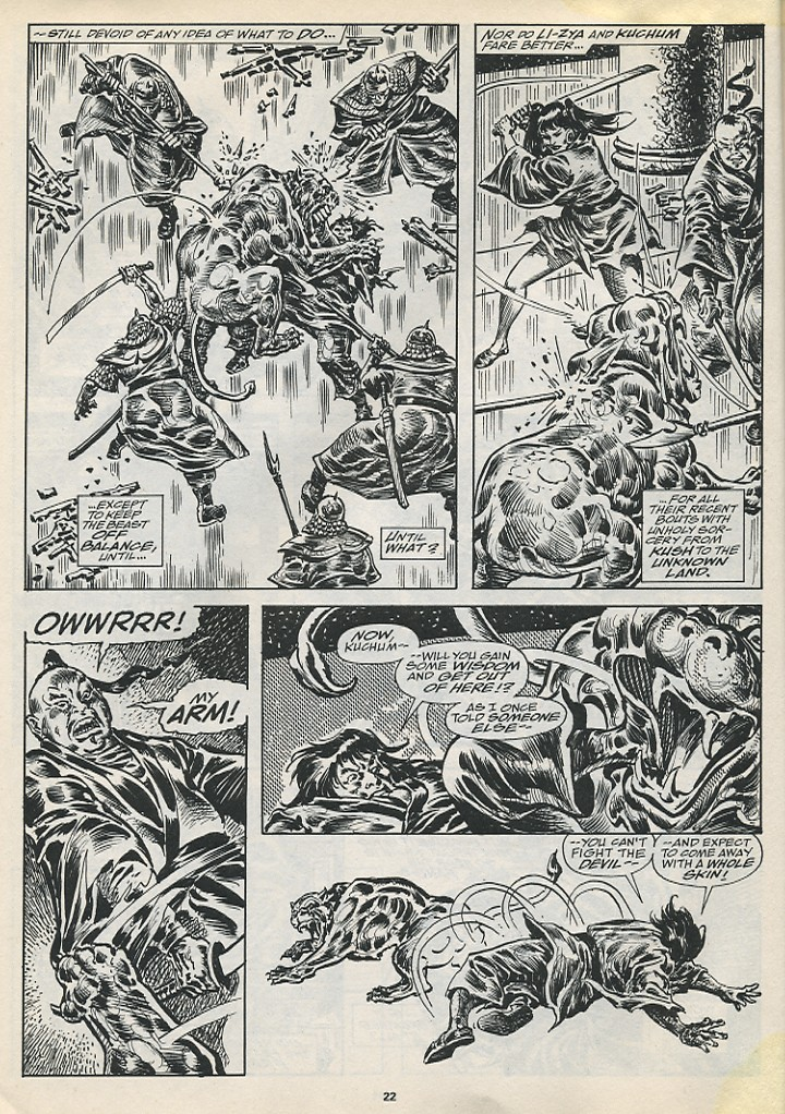 The Savage Sword Of Conan Issue #194 #195 - English 24