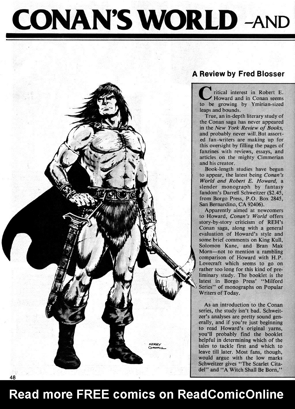 The Savage Sword Of Conan Issue #41 #42 - English 48