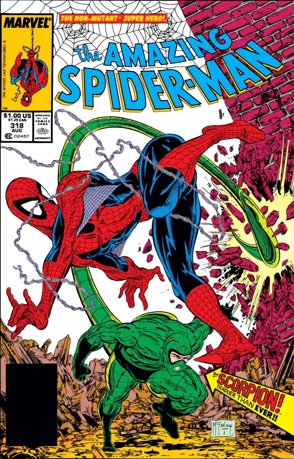 The Amazing Spider-Man (1963) 318 Page 1
