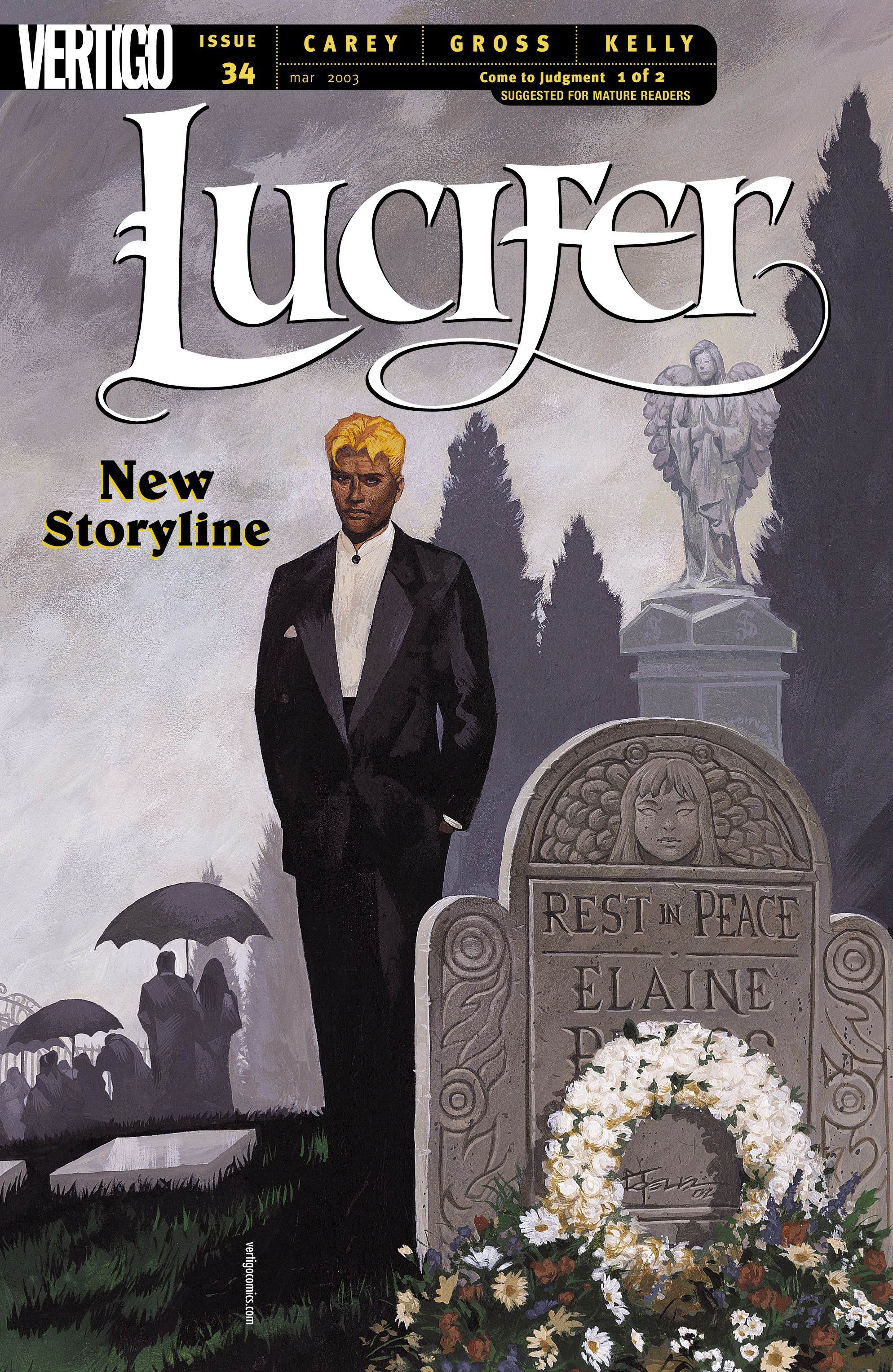 Lucifer (2000) issue 34 - Page 1