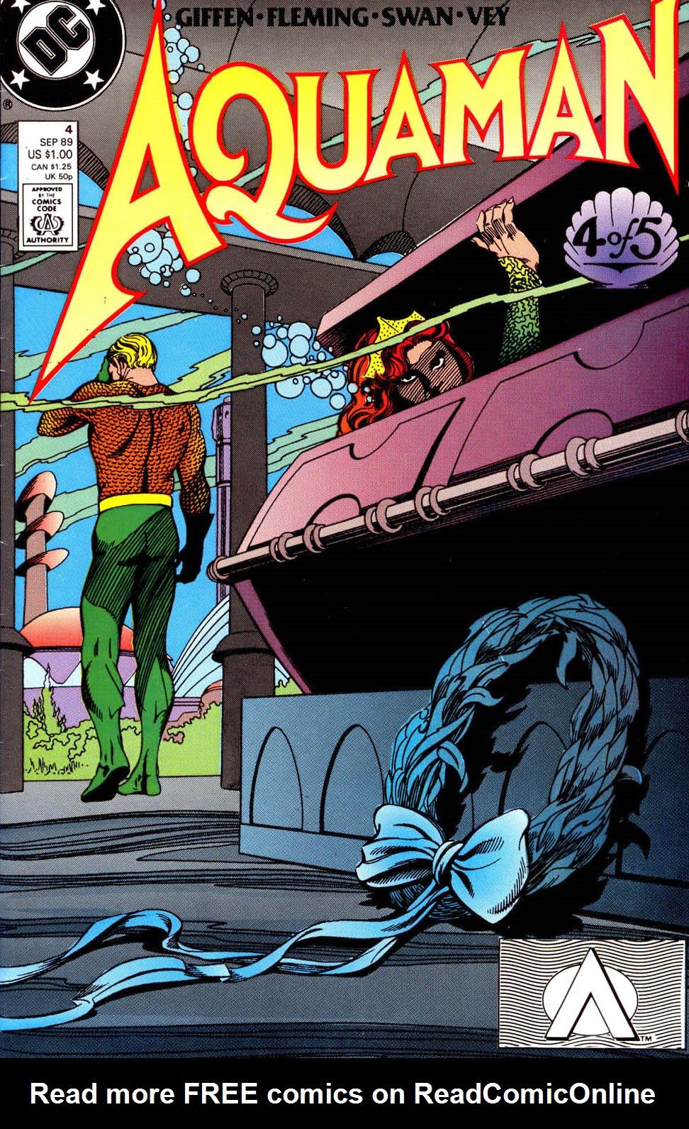Aquaman (1989) 4 Page 1
