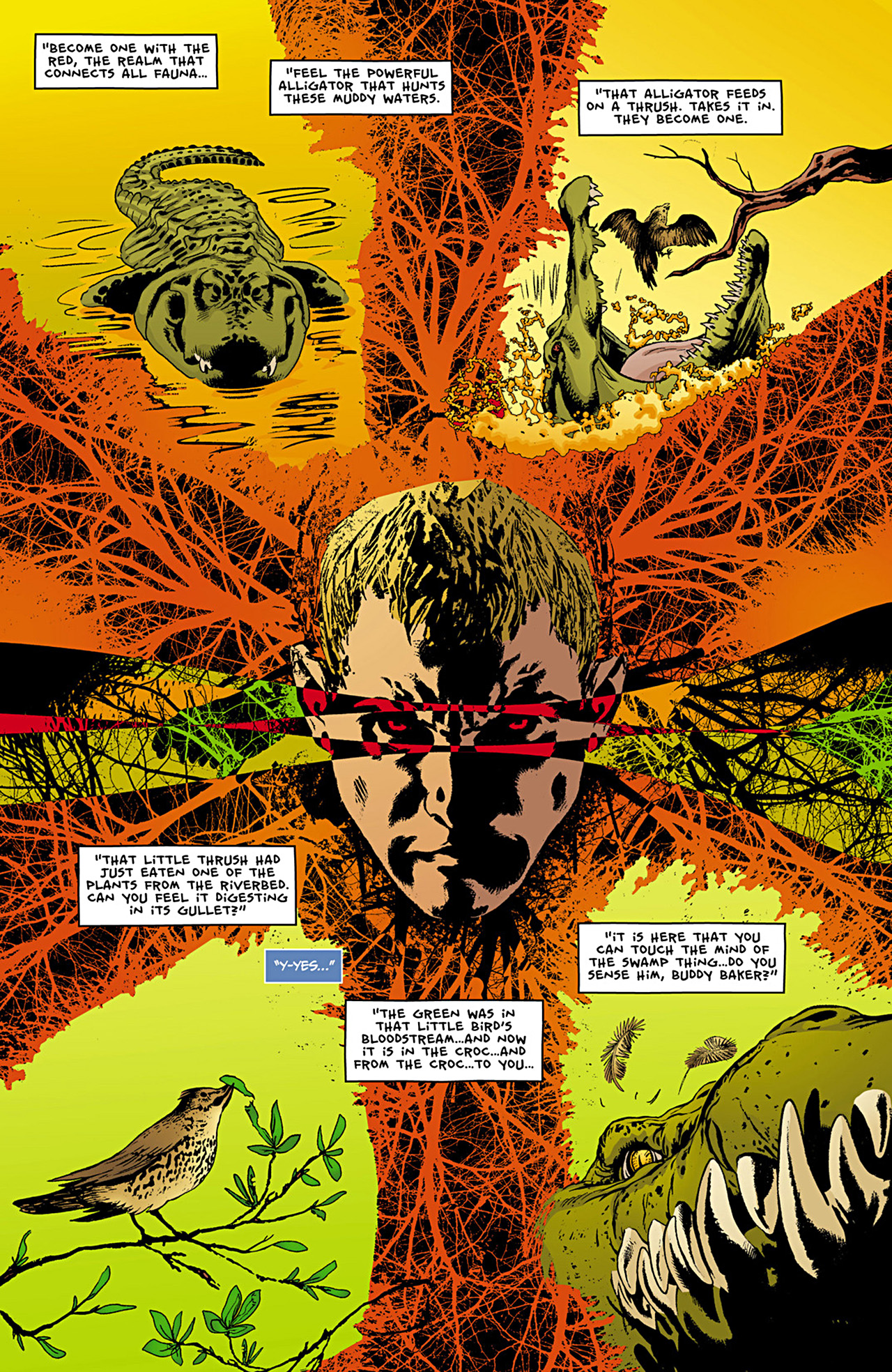 Read online Animal Man (2011) comic -  Issue #12 - 6