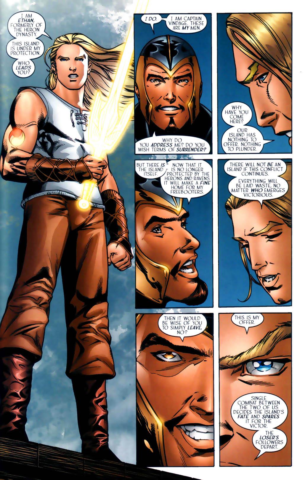 Read online Scion comic -  Issue #30 - 17