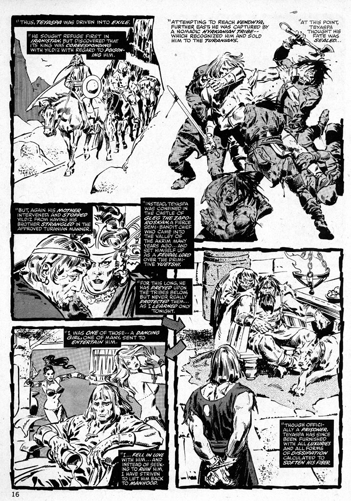The Savage Sword Of Conan Issue #38 #39 - English 16
