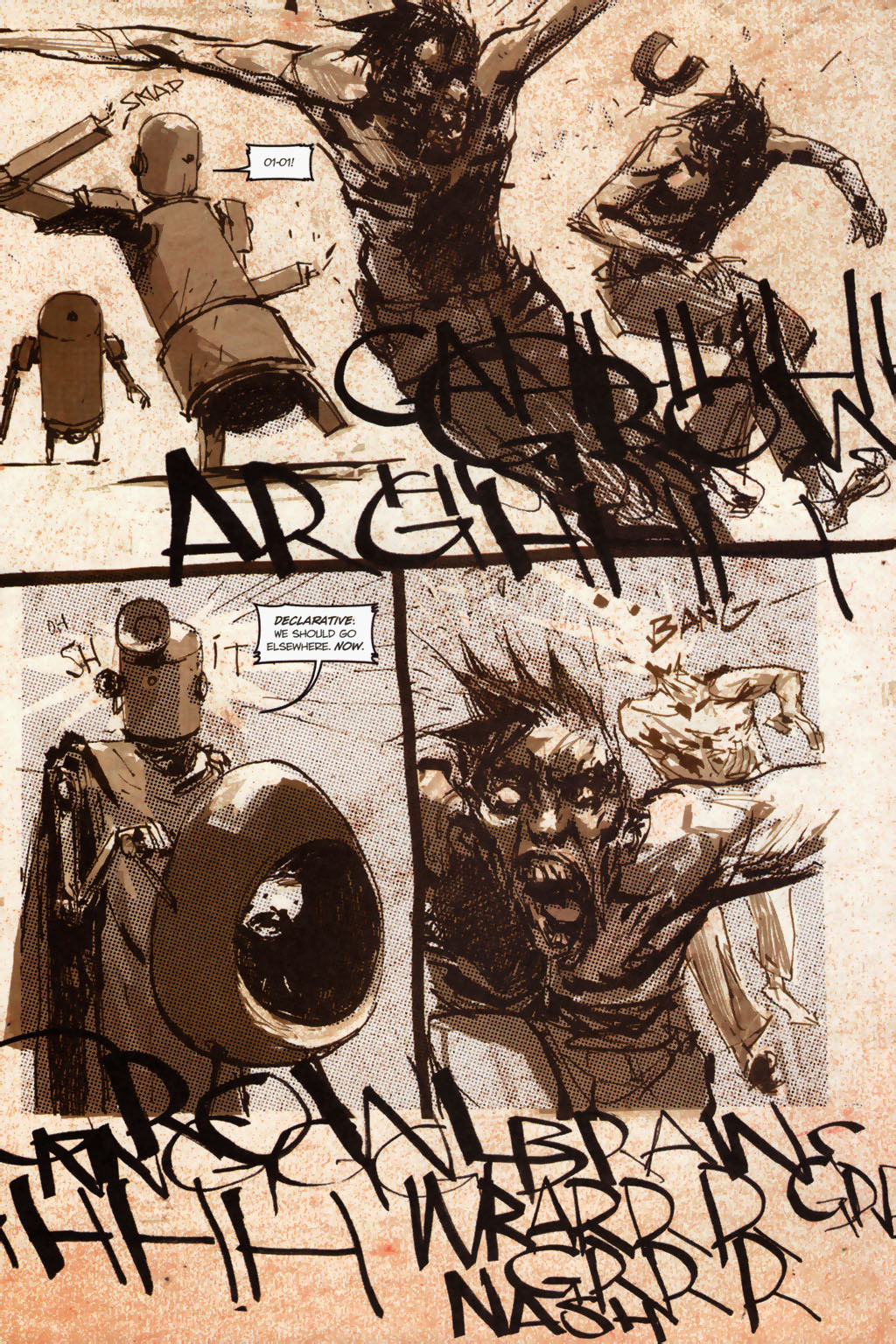 Zombies vs. Robots (2006) Issue #1 Page 20